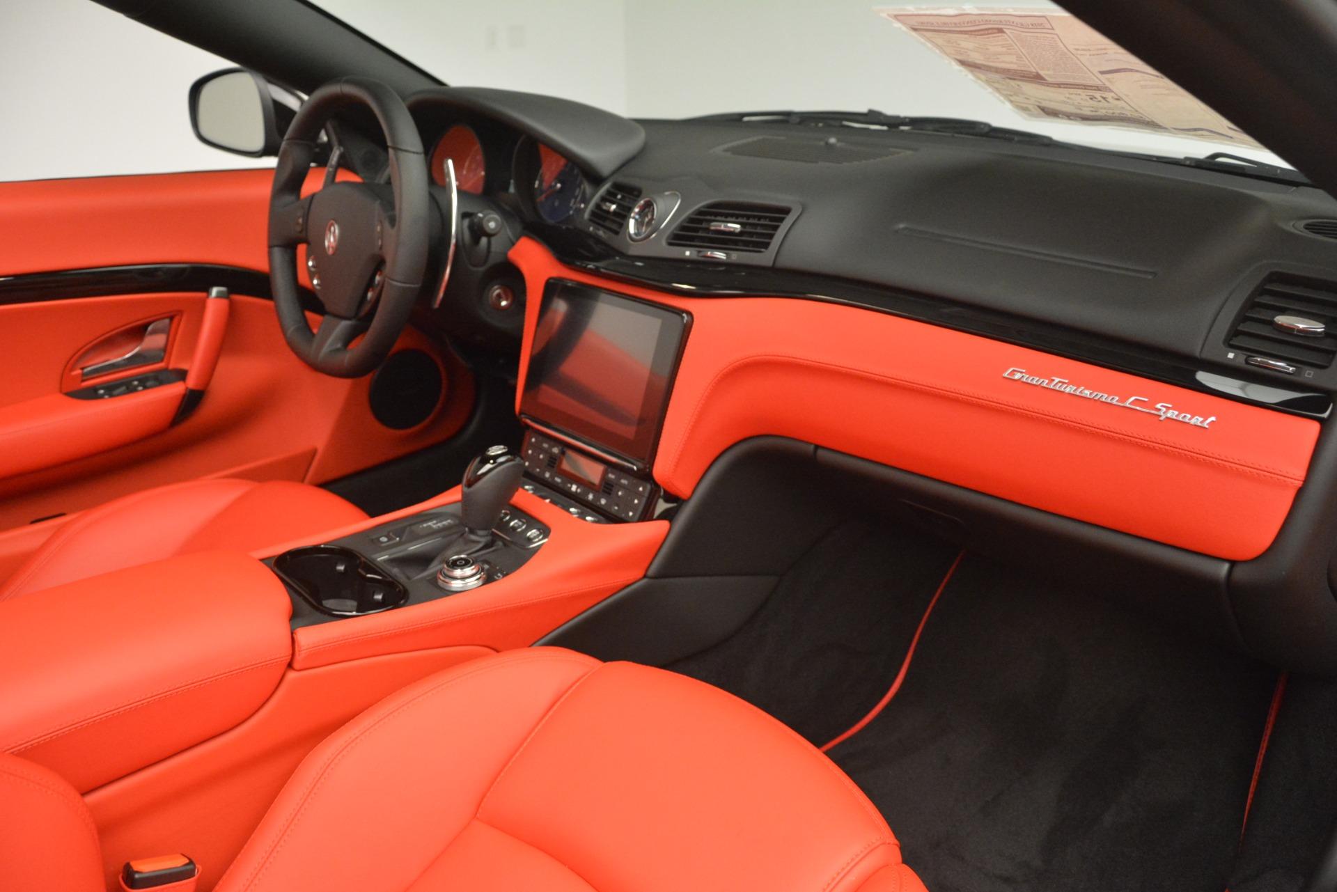 New 2018 Maserati GranTurismo Sport Convertible For Sale In Greenwich, CT 3137_p33