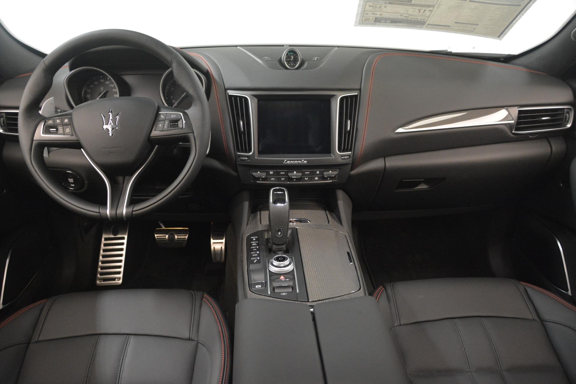 New 2019 Maserati Levante SQ4 GranSport Nerissimo For Sale In Greenwich, CT 3144_p16