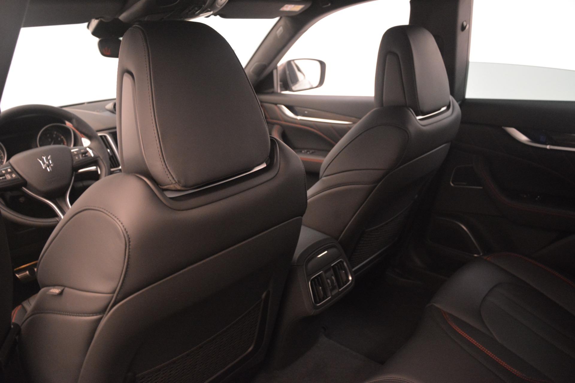 New 2019 Maserati Levante SQ4 GranSport Nerissimo For Sale In Greenwich, CT 3144_p18