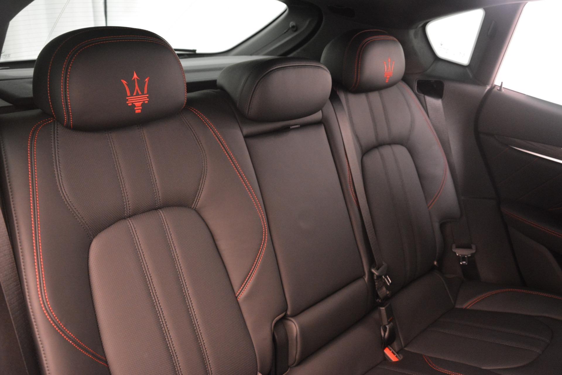 New 2019 Maserati Levante SQ4 GranSport Nerissimo For Sale In Greenwich, CT 3144_p26