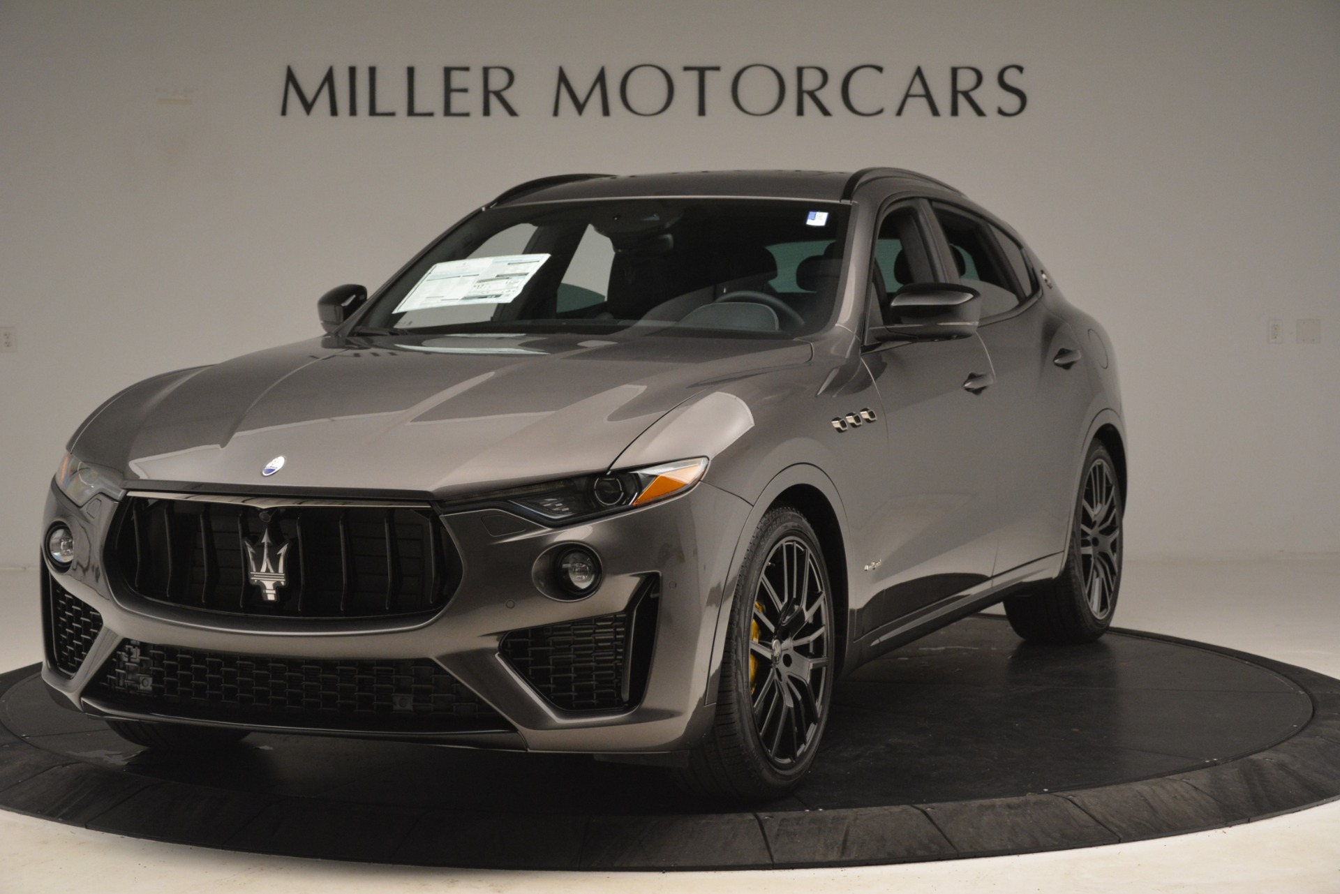 New 2019 Maserati Levante SQ4 GranSport Nerissimo For Sale In Greenwich, CT 3146_main