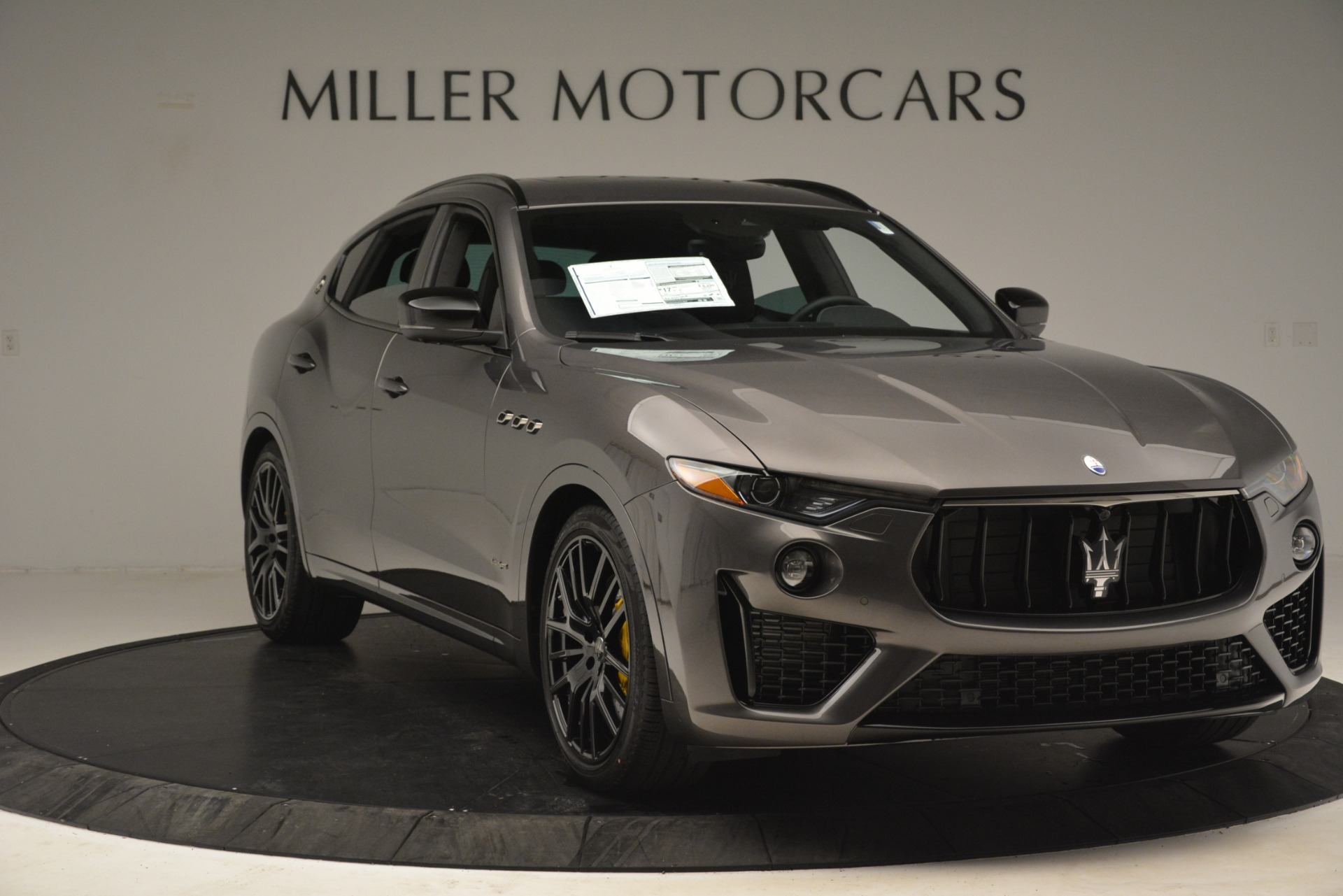 New 2019 Maserati Levante SQ4 GranSport Nerissimo For Sale In Greenwich, CT 3146_p11