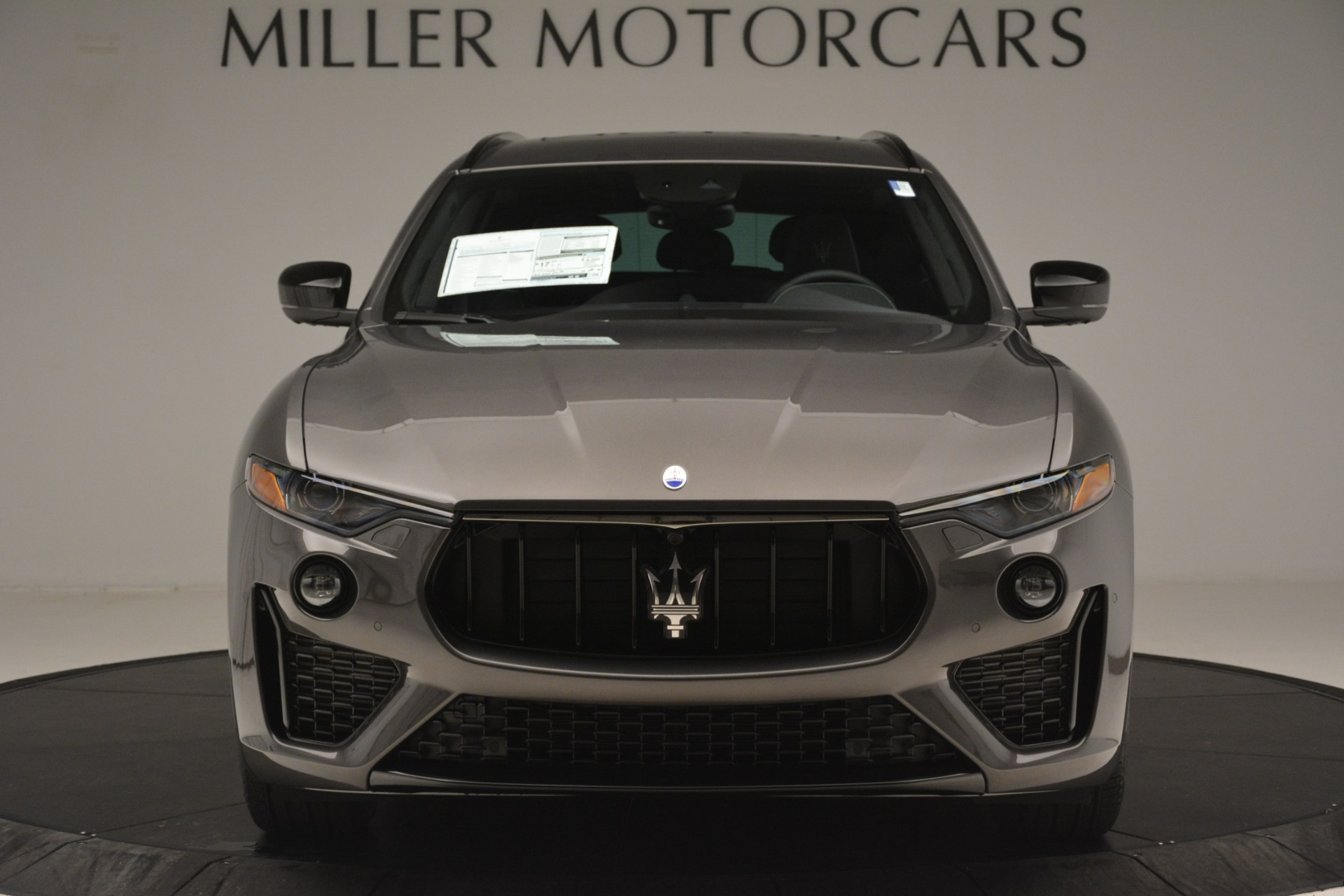 New 2019 Maserati Levante SQ4 GranSport Nerissimo For Sale In Greenwich, CT 3146_p12