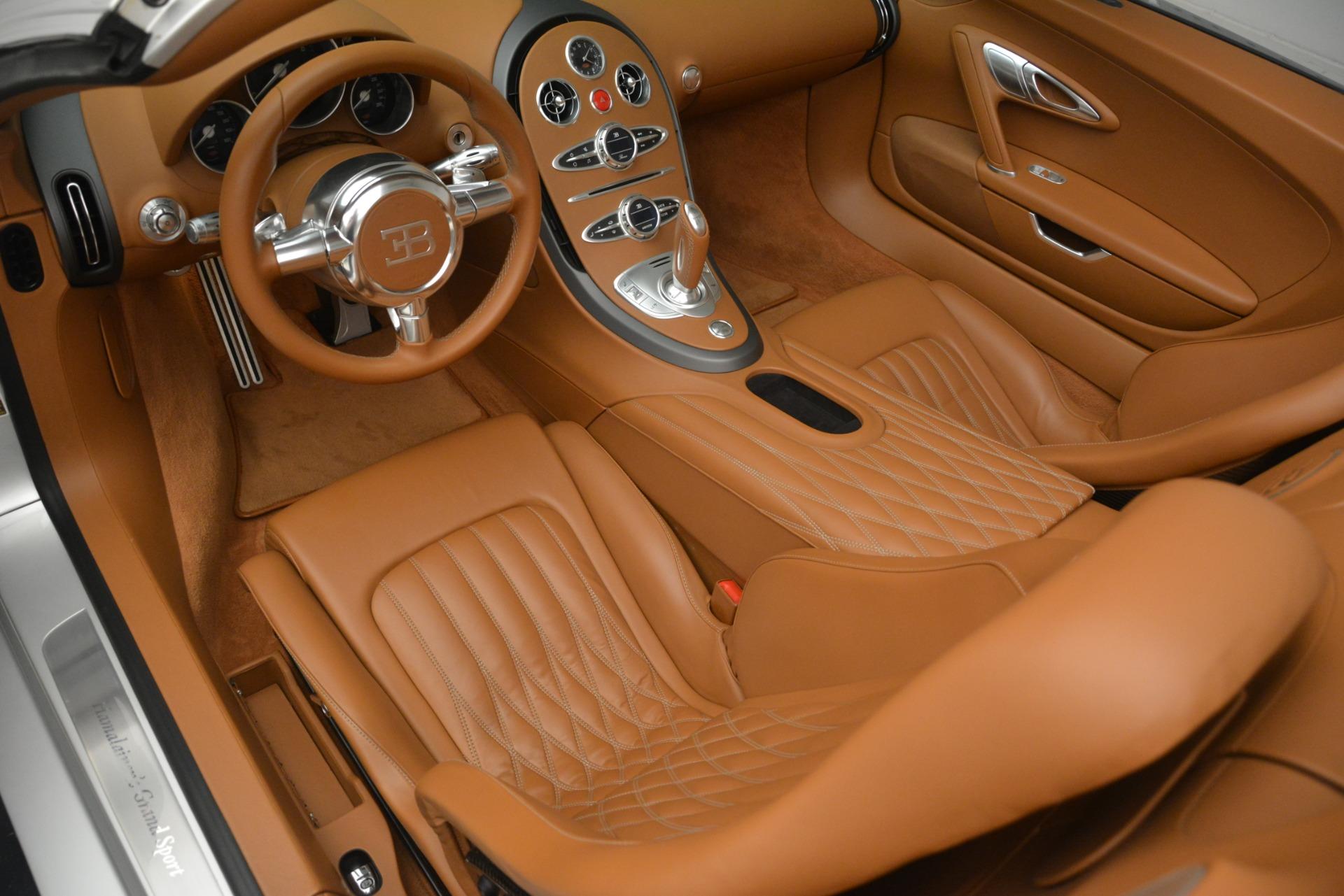 Used 2010 Bugatti Veyron 16.4 Grand Sport For Sale In Greenwich, CT 3159_p23