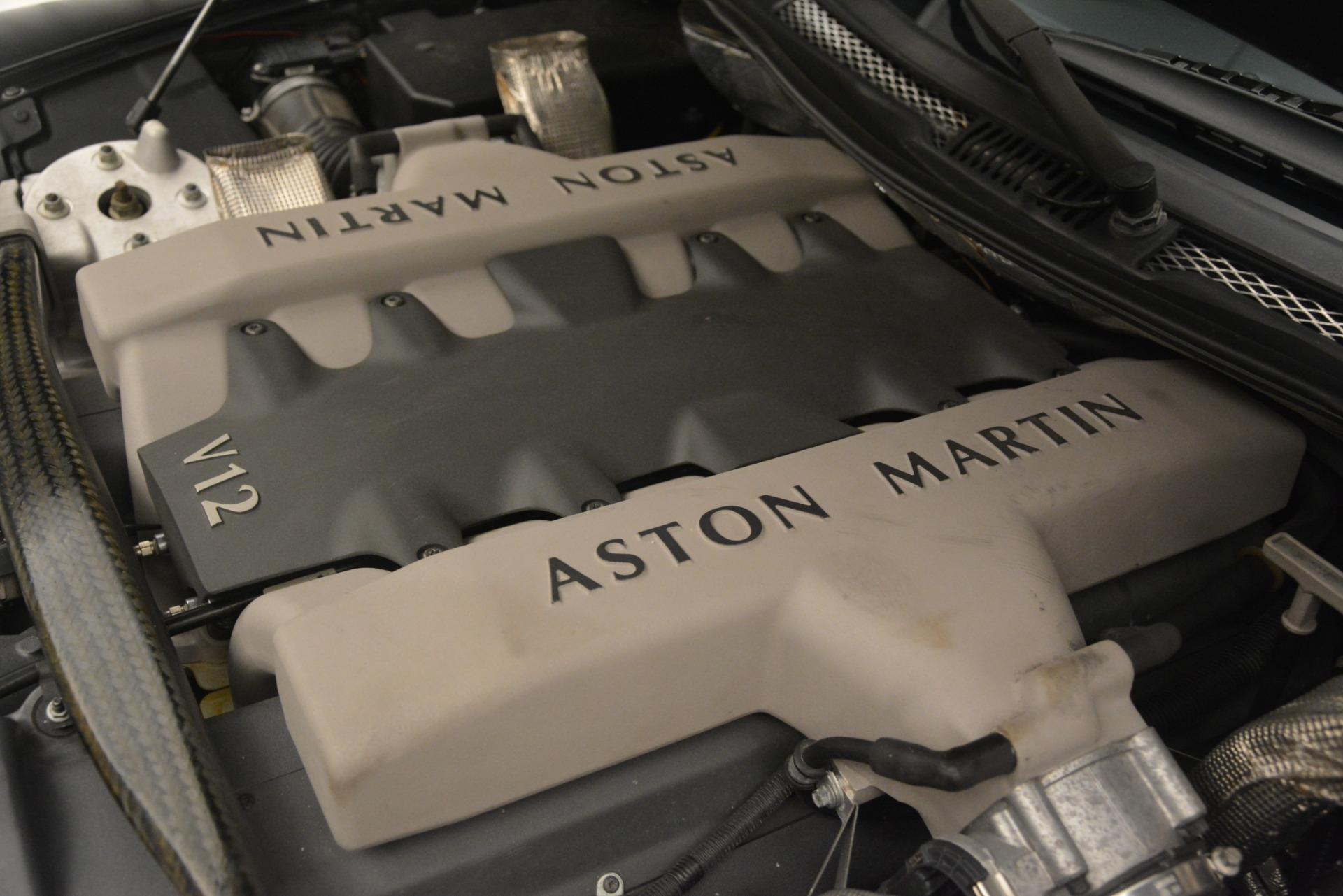 Used 2004 Aston Martin V12 Vanquish  For Sale In Greenwich, CT 3160_p21