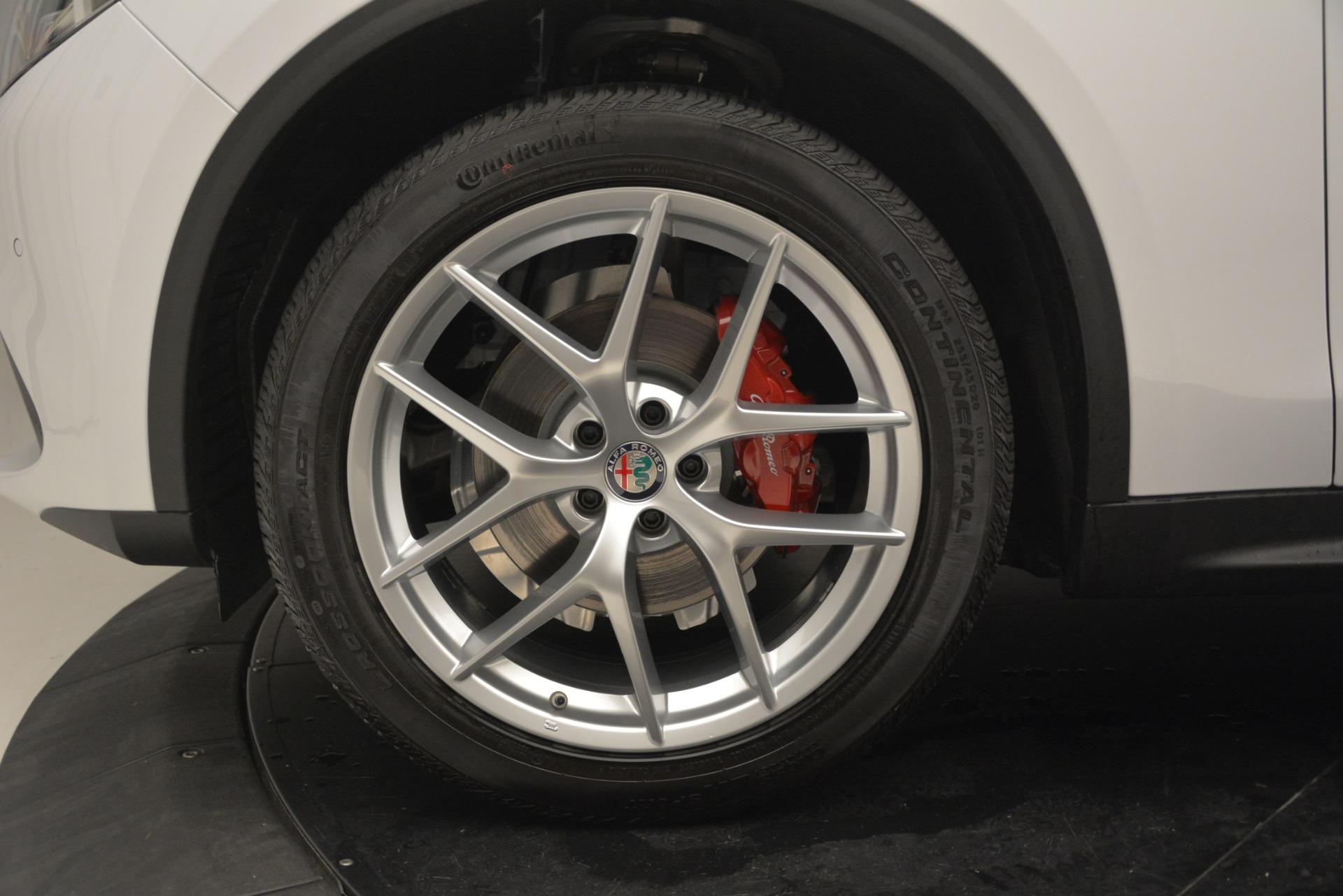New 2019 Alfa Romeo Stelvio Ti Sport Q4 For Sale In Greenwich, CT 3173_p28