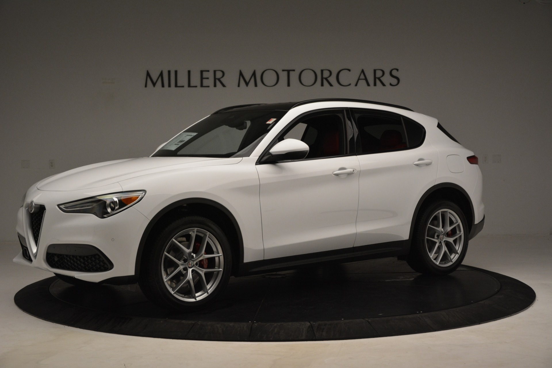 New 2019 Alfa Romeo Stelvio Ti Sport Q4 For Sale In Greenwich, CT 3173_p2