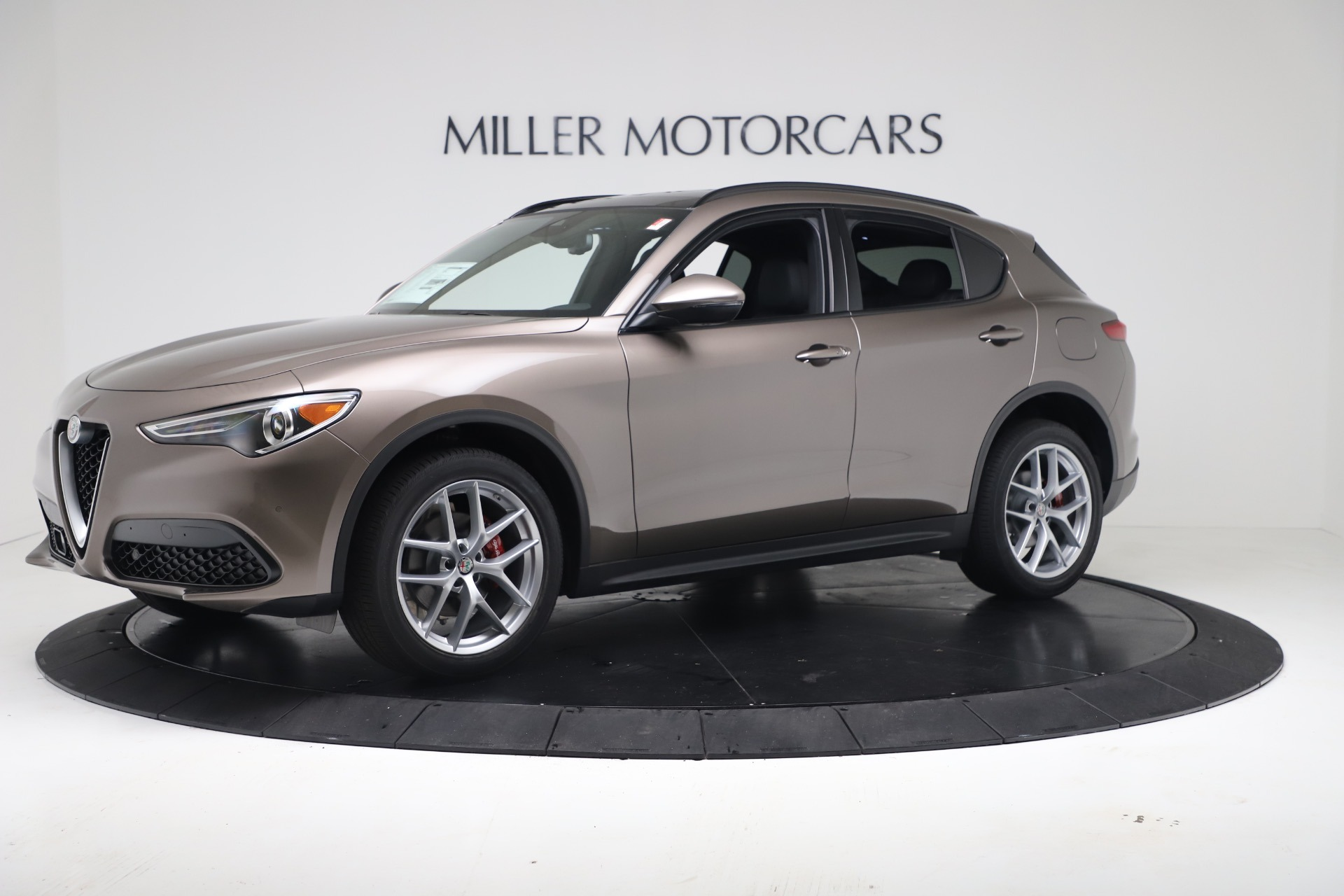 New 2019 Alfa Romeo Stelvio Ti Sport Q4 For Sale In Greenwich, CT 3175_p2