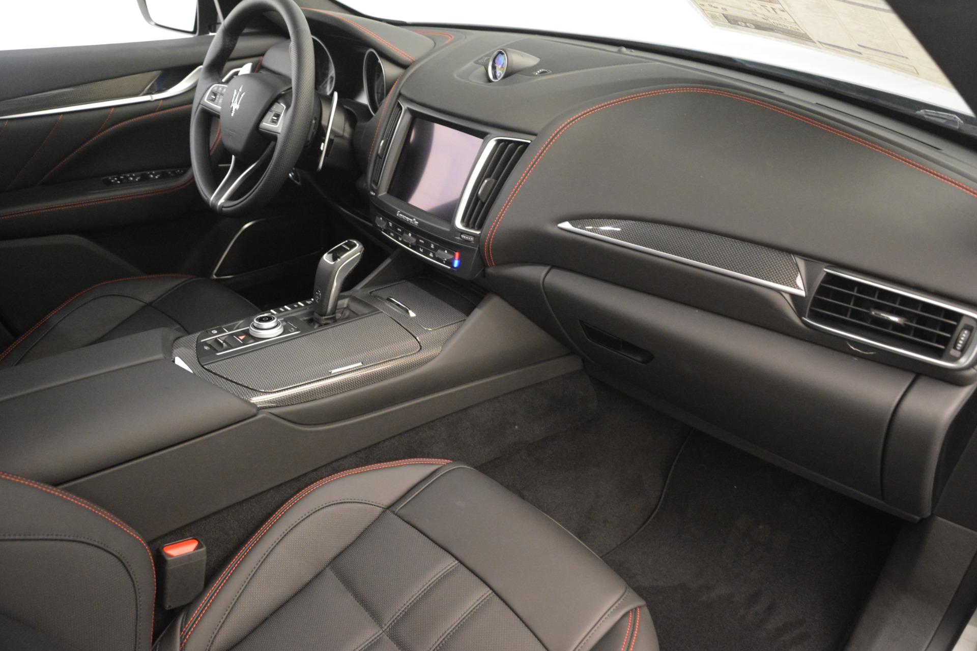 New 2019 Maserati Levante SQ4 GranSport Nerissimo For Sale In Greenwich, CT 3177_p22