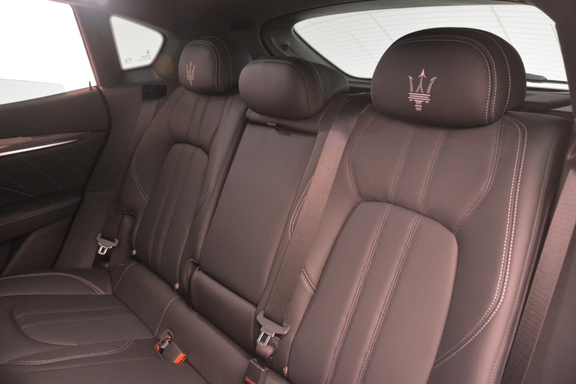 New 2019 Maserati Levante SQ4 GranSport Nerissimo For Sale In Greenwich, CT 3178_p18