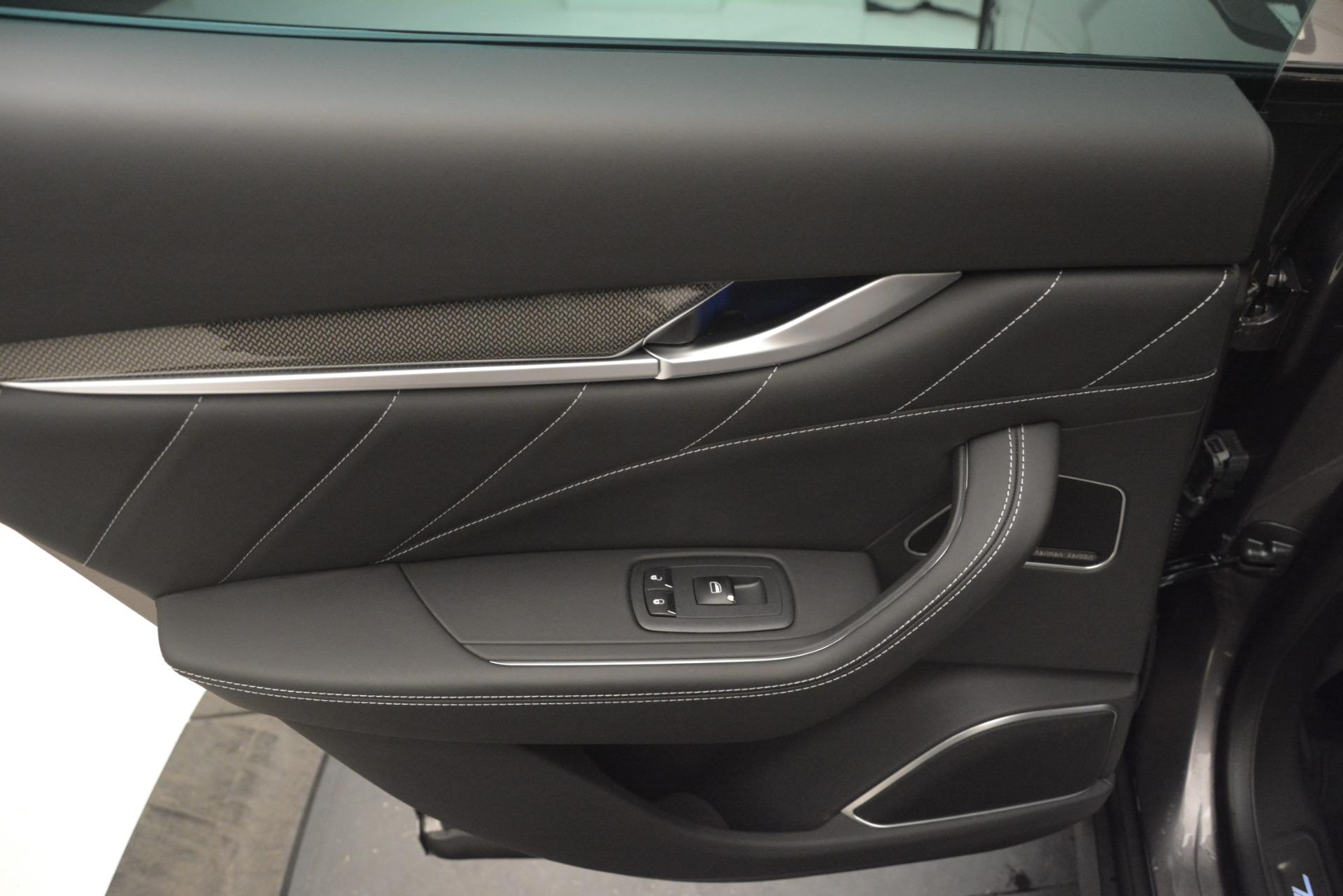 New 2019 Maserati Levante SQ4 GranSport Nerissimo For Sale In Greenwich, CT 3178_p21