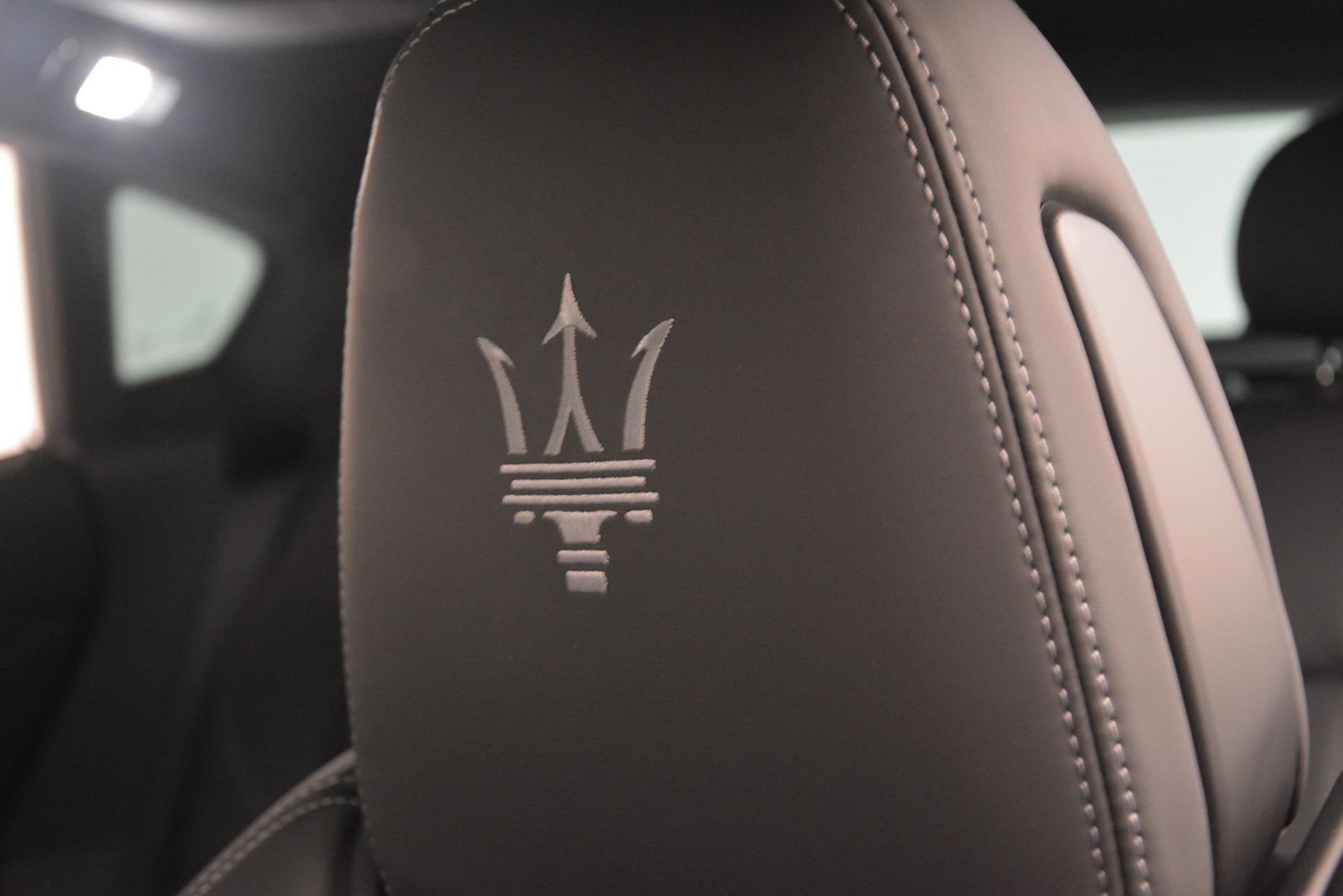 New 2019 Maserati Levante SQ4 GranSport Nerissimo For Sale In Greenwich, CT 3178_p29