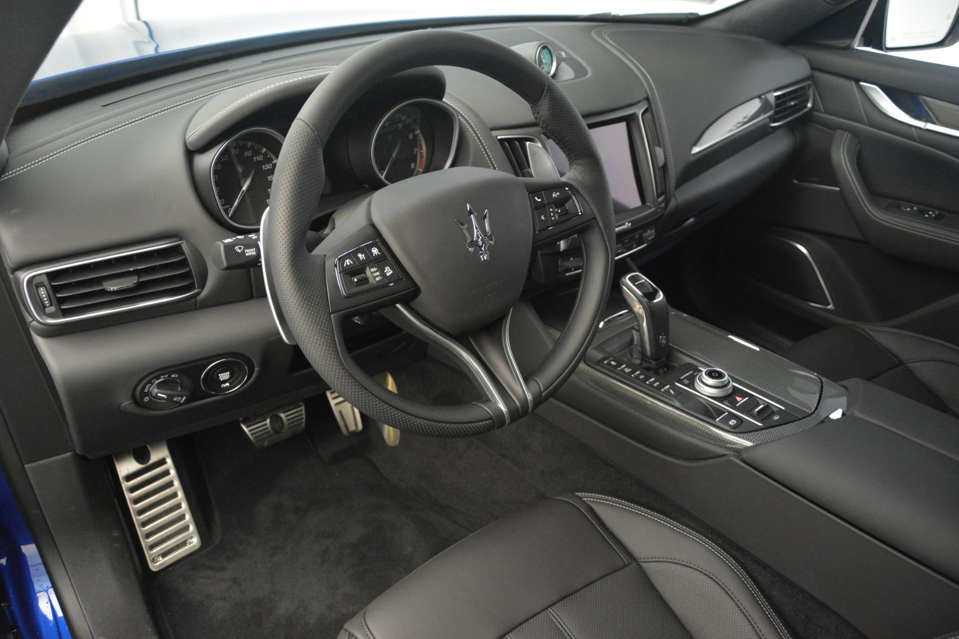 New 2019 Maserati Levante SQ4 GranSport Nerissimo For Sale In Greenwich, CT 3179_p13