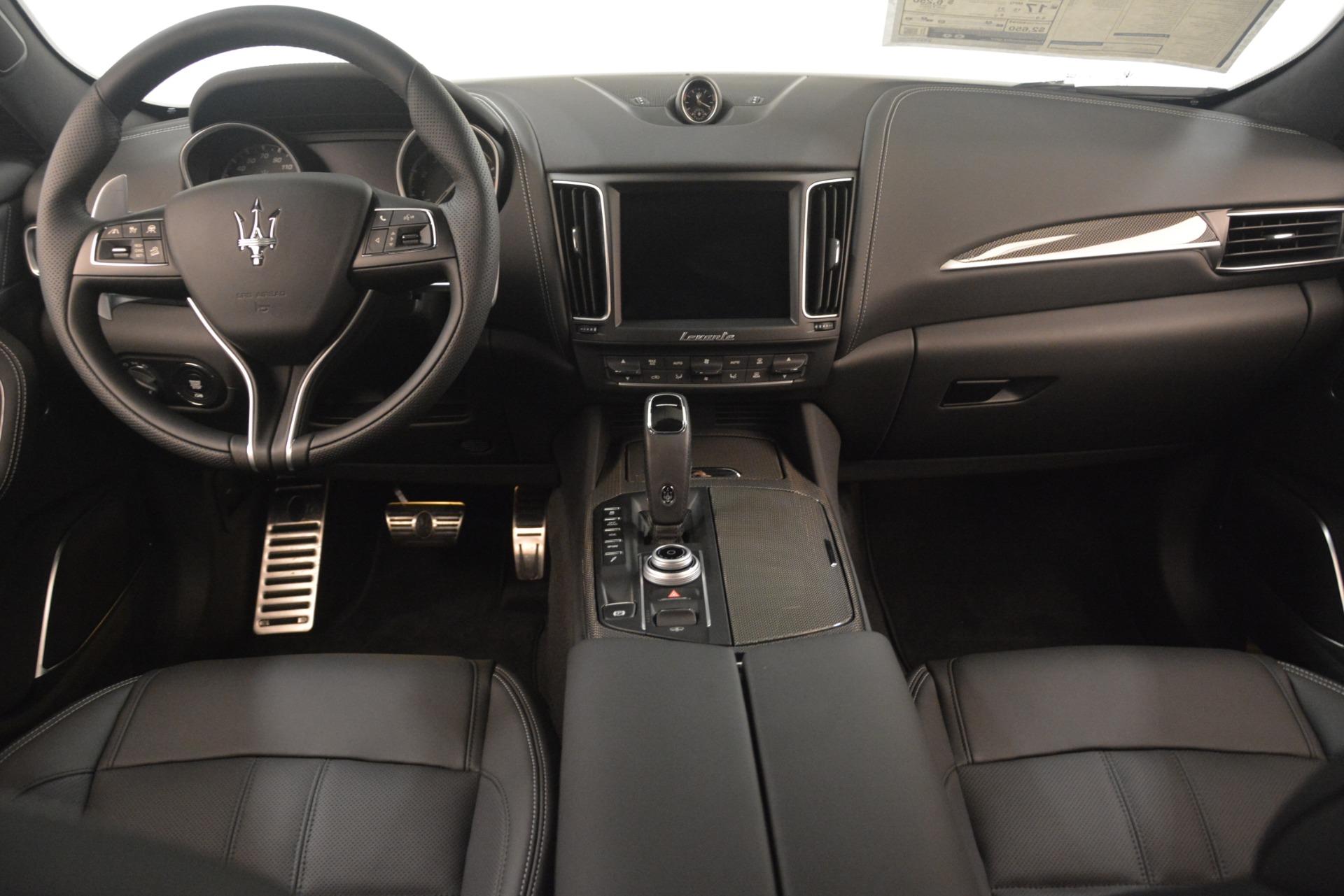 New 2019 Maserati Levante SQ4 GranSport Nerissimo For Sale In Greenwich, CT 3179_p16