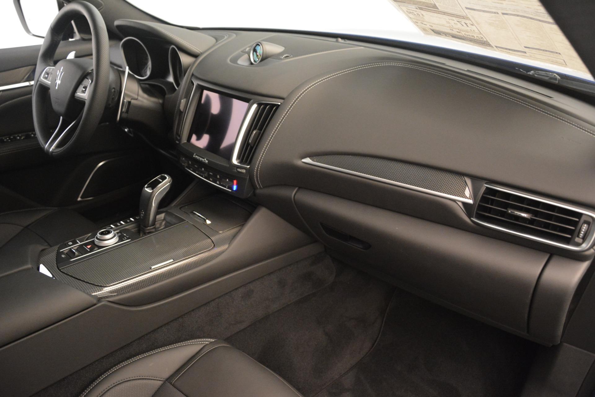 New 2019 Maserati Levante SQ4 GranSport Nerissimo For Sale In Greenwich, CT 3179_p22