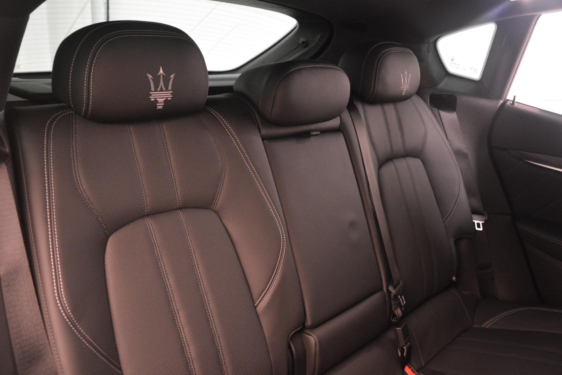 New 2019 Maserati Levante SQ4 GranSport Nerissimo For Sale In Greenwich, CT 3179_p26