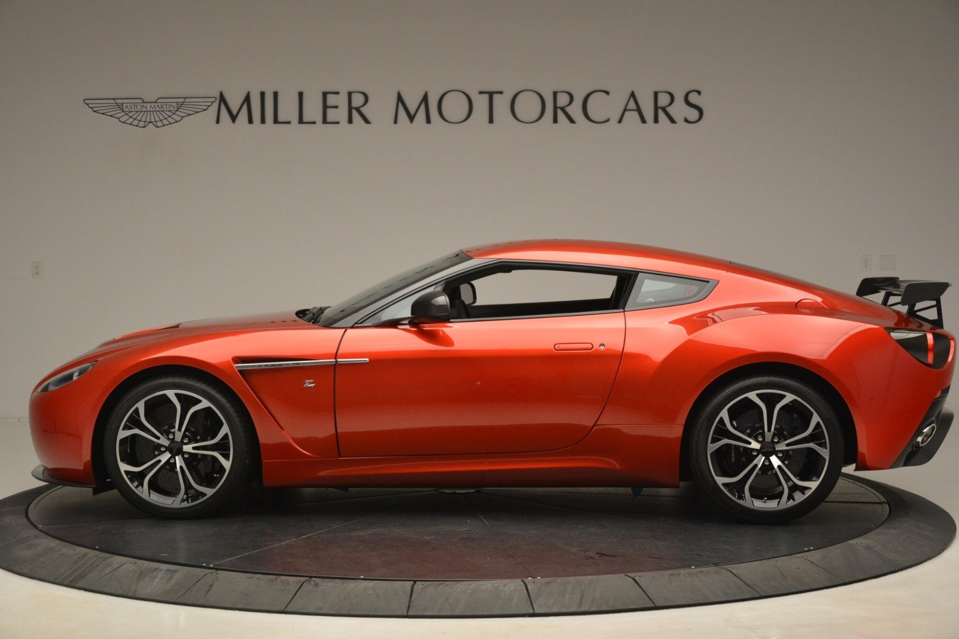 Used 2013 Aston Martin V12 Zagato Coupe For Sale In Greenwich, CT 3181_p2