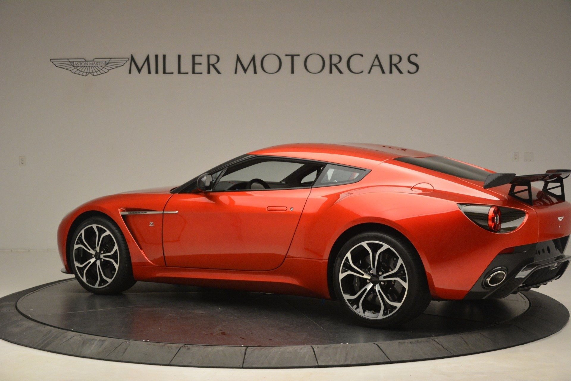 Used 2013 Aston Martin V12 Zagato Coupe For Sale In Greenwich, CT 3181_p3