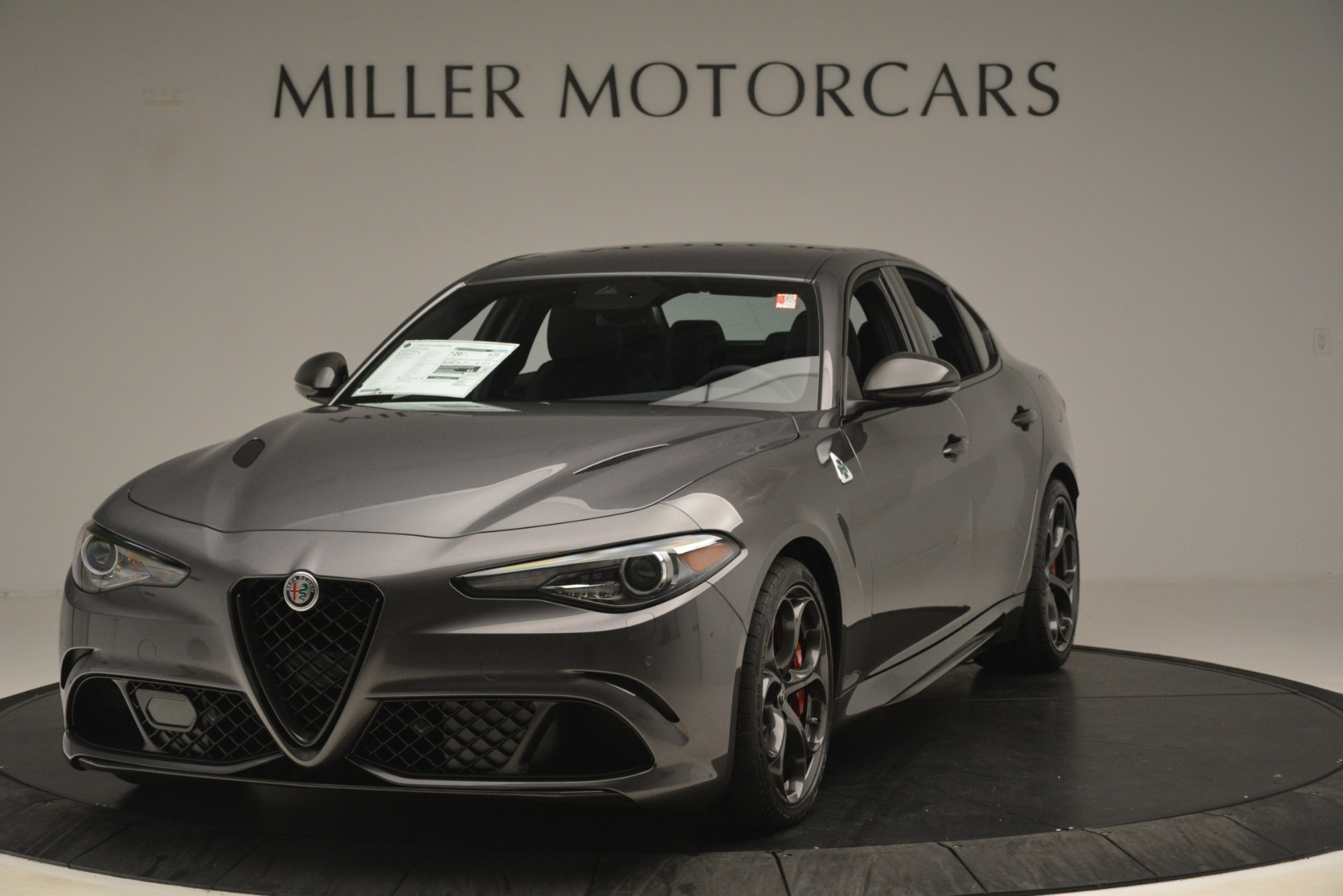 New 2019 Alfa Romeo Giulia Quadrifoglio For Sale In Greenwich, CT 3193_main