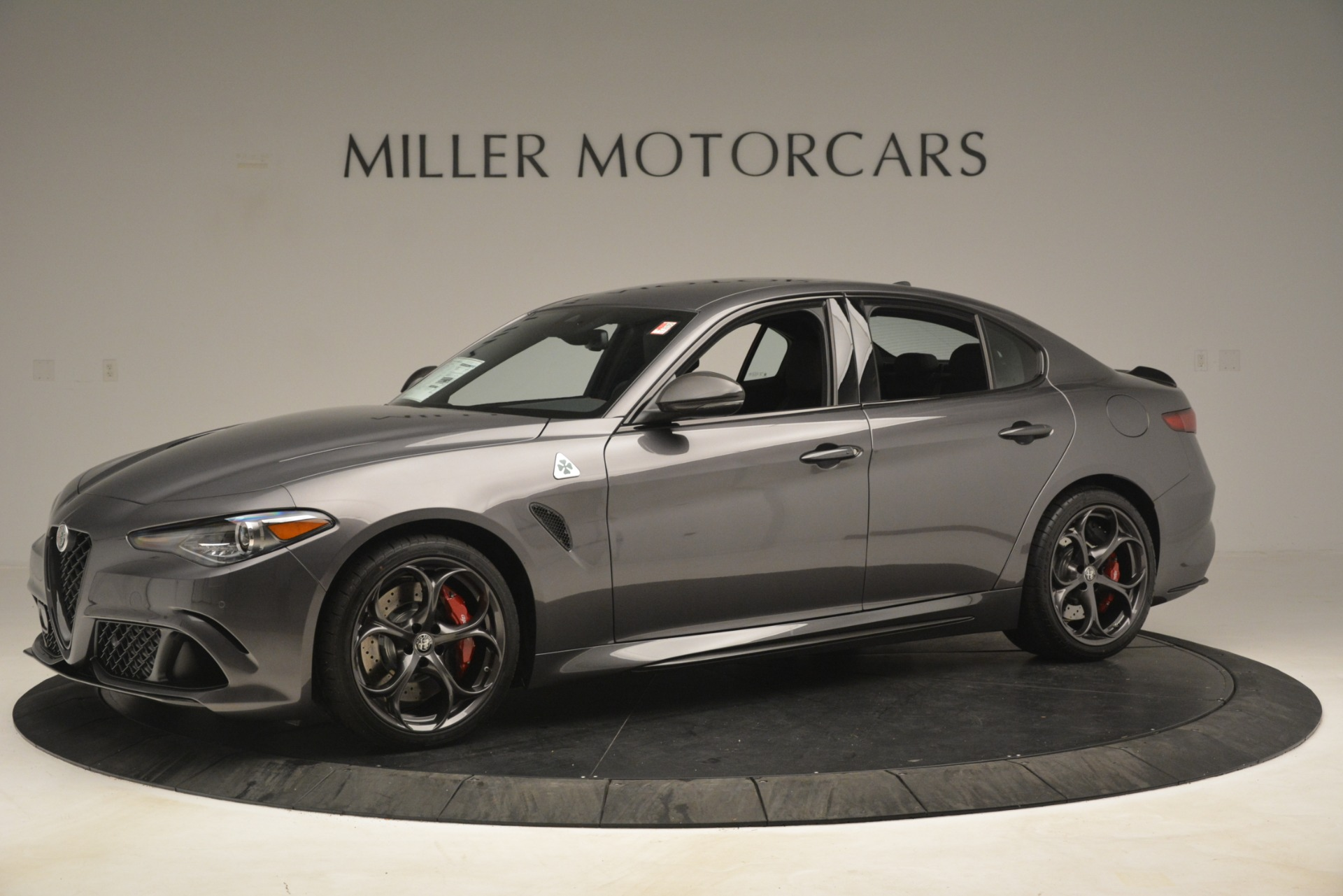 New 2019 Alfa Romeo Giulia Quadrifoglio For Sale In Greenwich, CT 3193_p2