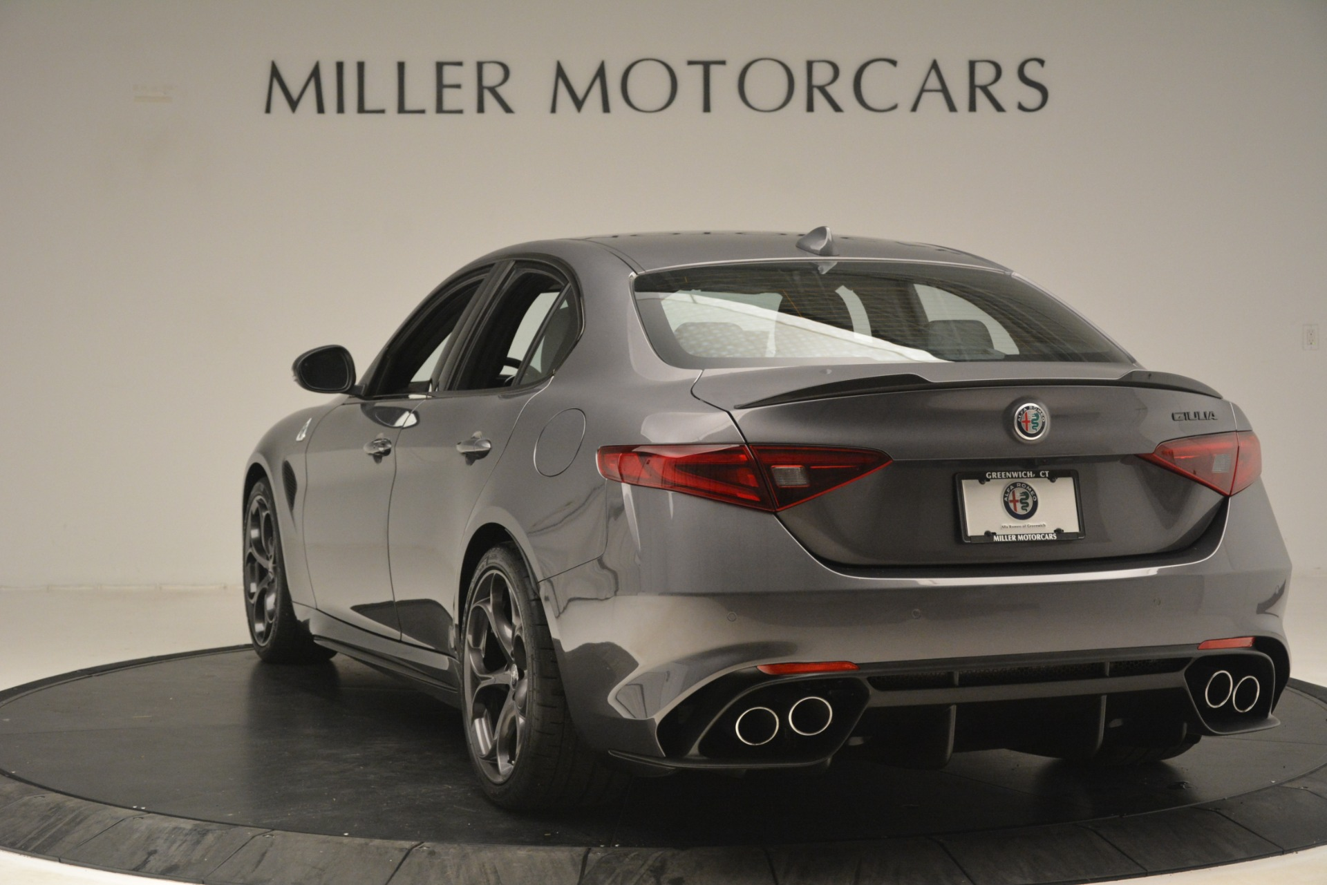 New 2019 Alfa Romeo Giulia Quadrifoglio For Sale In Greenwich, CT 3193_p5