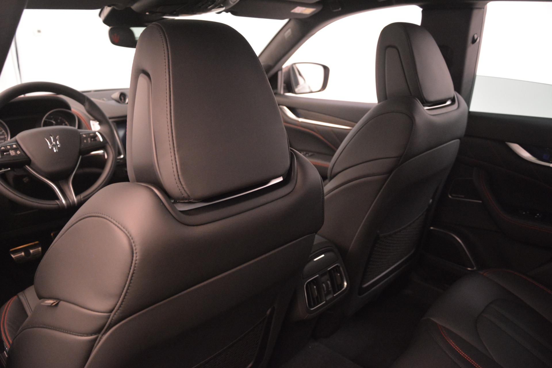 New 2019 Maserati Levante SQ4 GranSport Nerissimo For Sale In Greenwich, CT 3199_p20