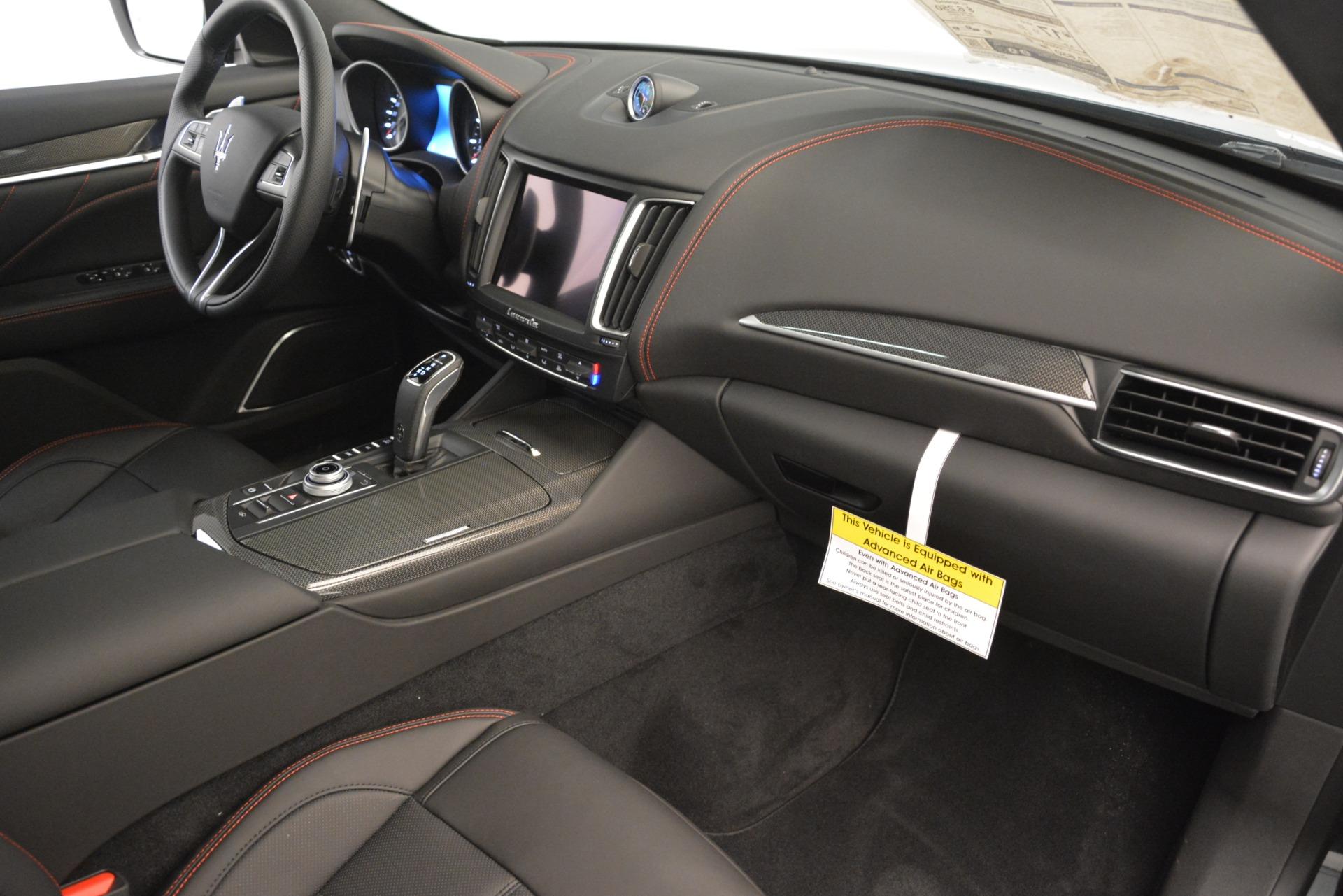 New 2019 Maserati Levante SQ4 GranSport Nerissimo For Sale In Greenwich, CT 3199_p22