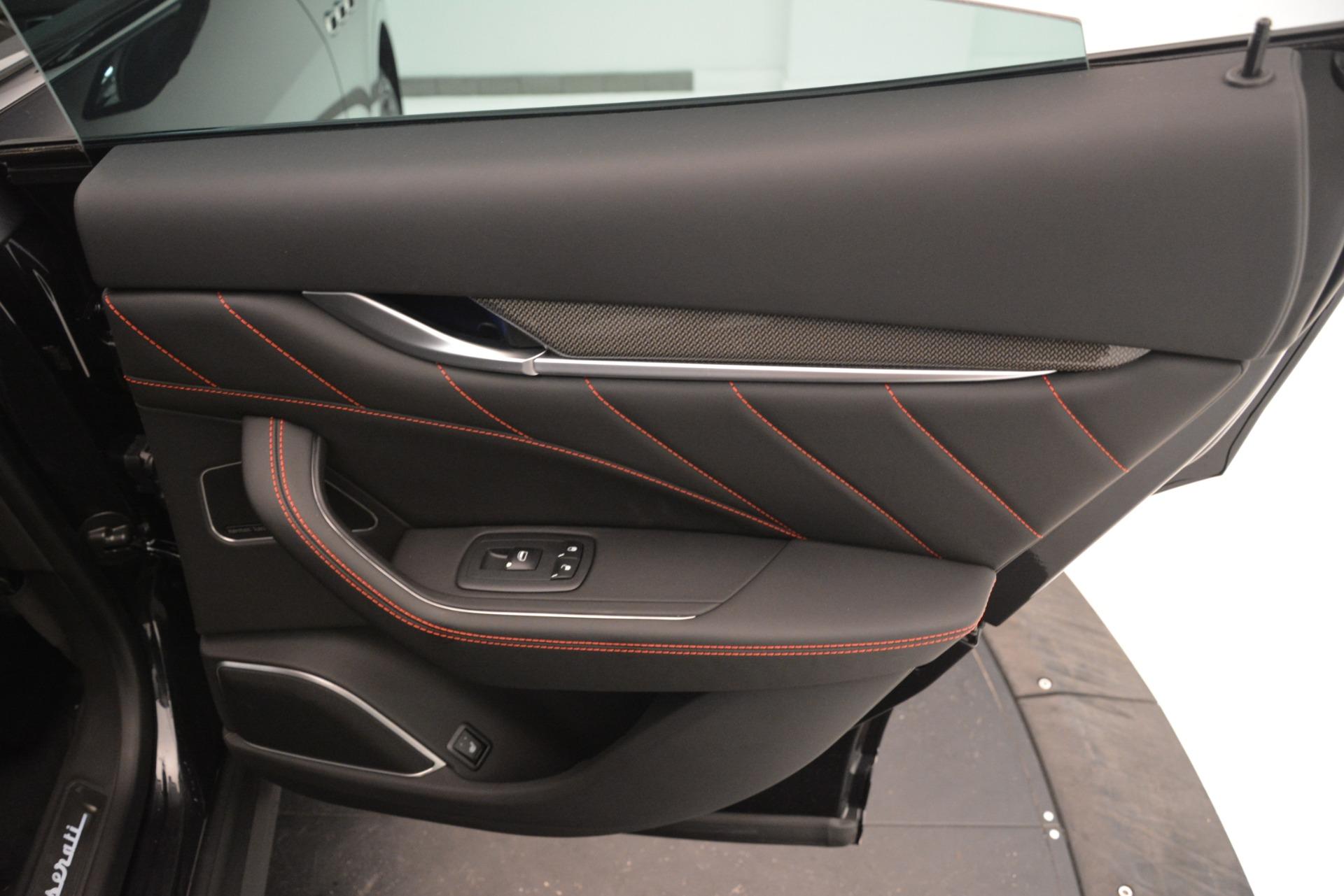 New 2019 Maserati Levante SQ4 GranSport Nerissimo For Sale In Greenwich, CT 3199_p29