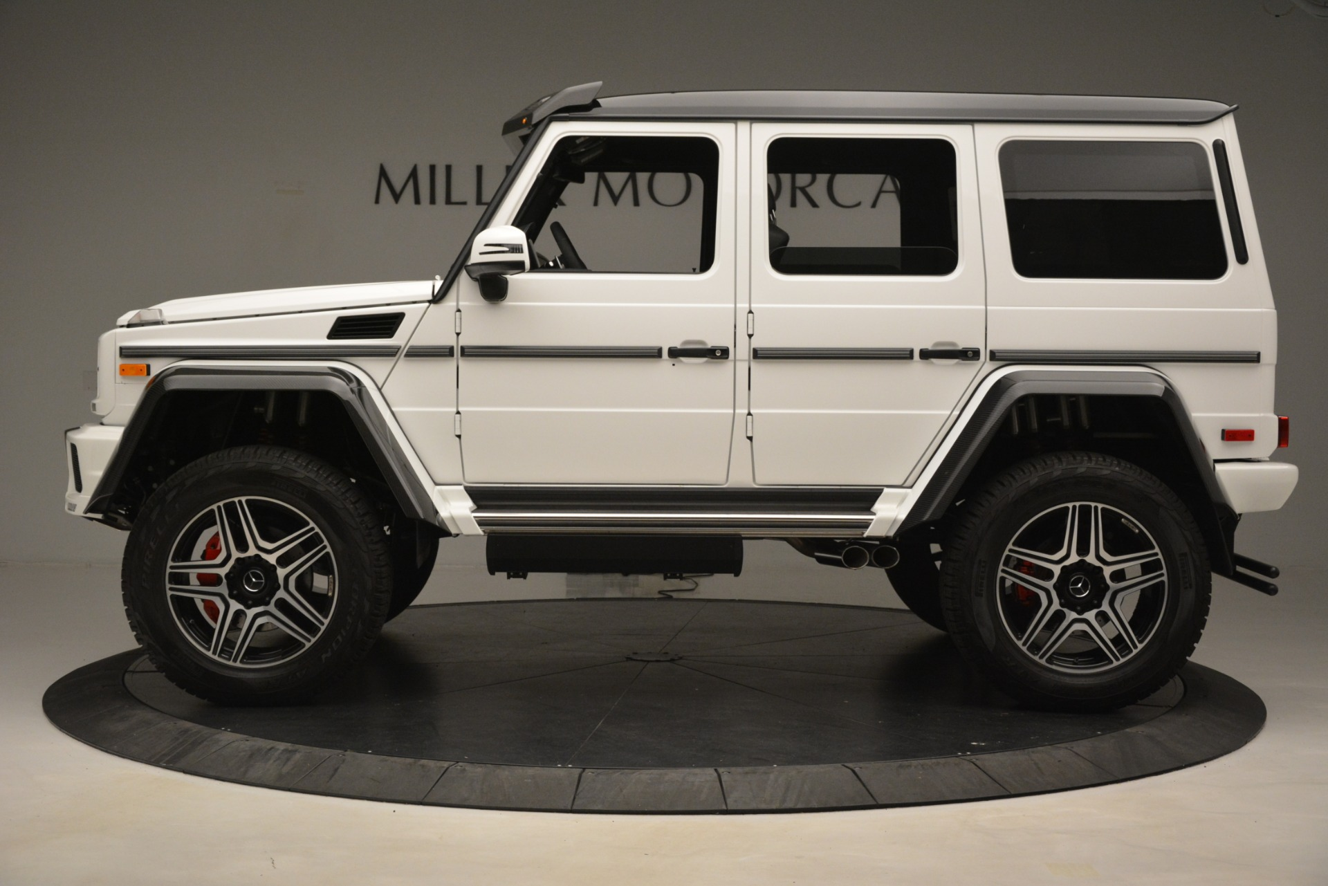 Used 2018 Mercedes-Benz G-Class G 550 4x4 Squared For Sale In Greenwich, CT 3204_p3