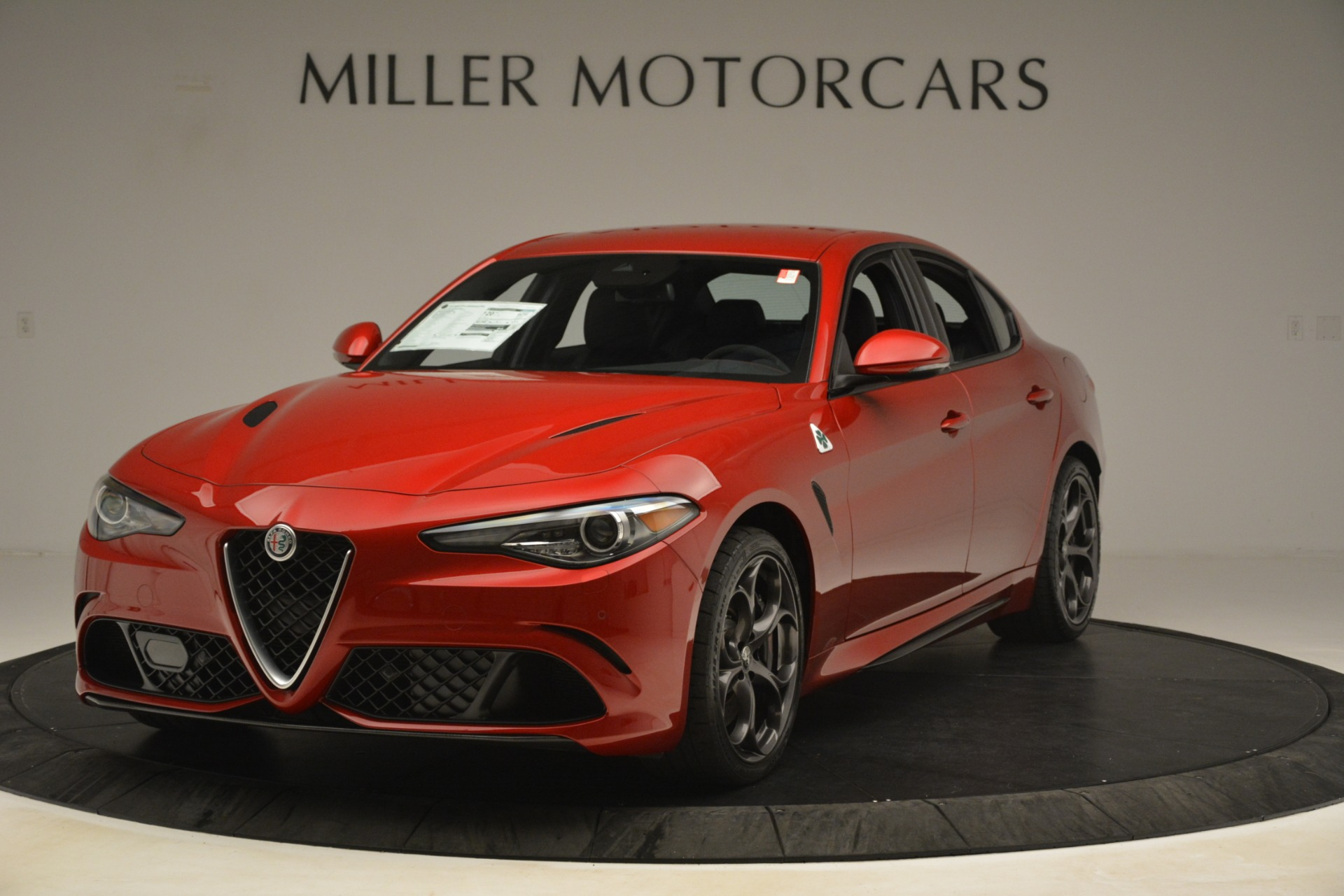 New 2019 Alfa Romeo Giulia Quadrifoglio For Sale In Greenwich, CT 3208_main