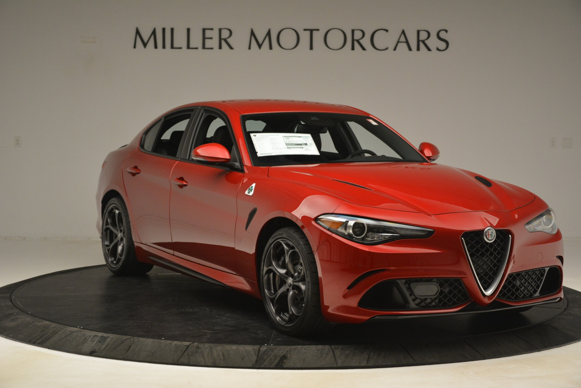 New 2019 Alfa Romeo Giulia Quadrifoglio For Sale In Greenwich, CT 3208_p11