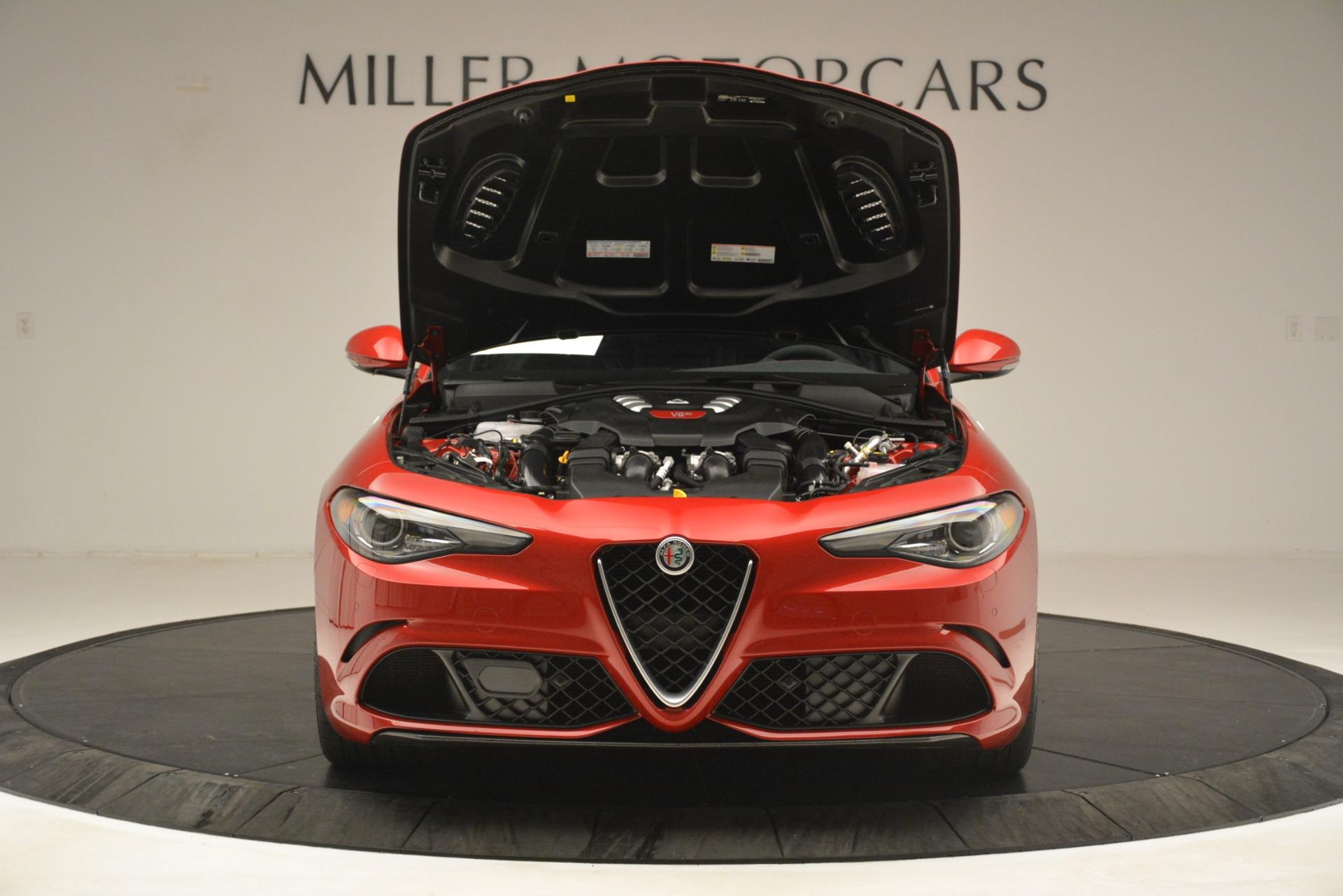 New 2019 Alfa Romeo Giulia Quadrifoglio For Sale In Greenwich, CT 3208_p13