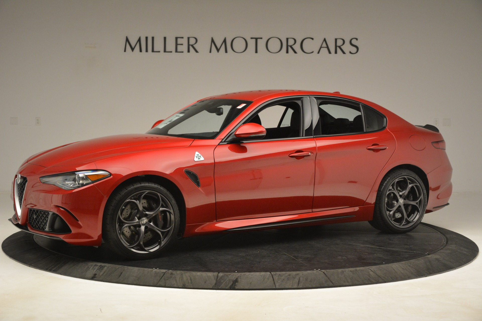 New 2019 Alfa Romeo Giulia Quadrifoglio For Sale In Greenwich, CT 3208_p2