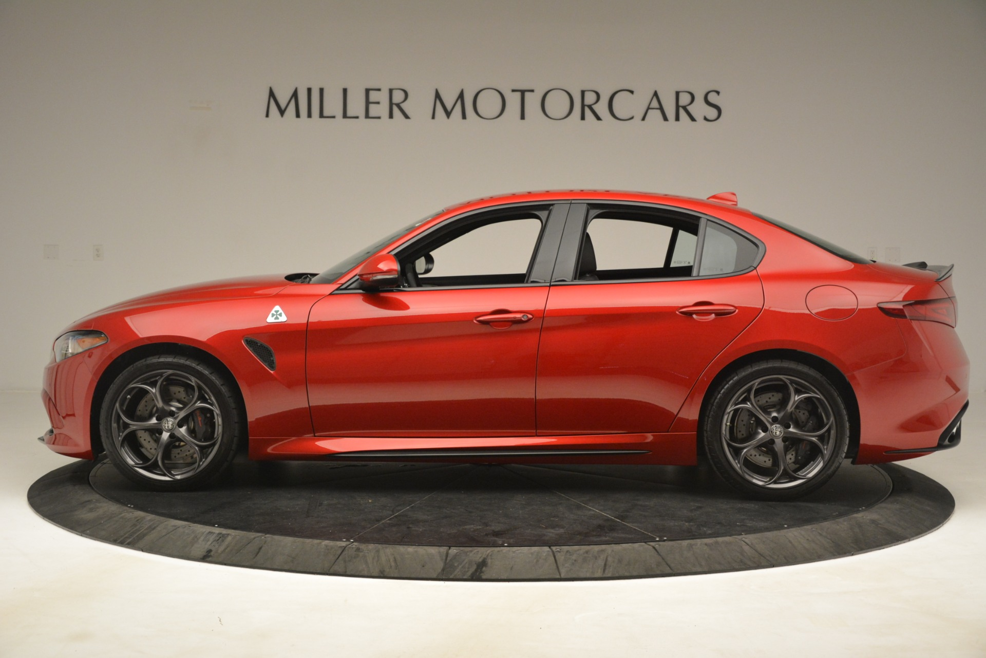 New 2019 Alfa Romeo Giulia Quadrifoglio For Sale In Greenwich, CT 3208_p3
