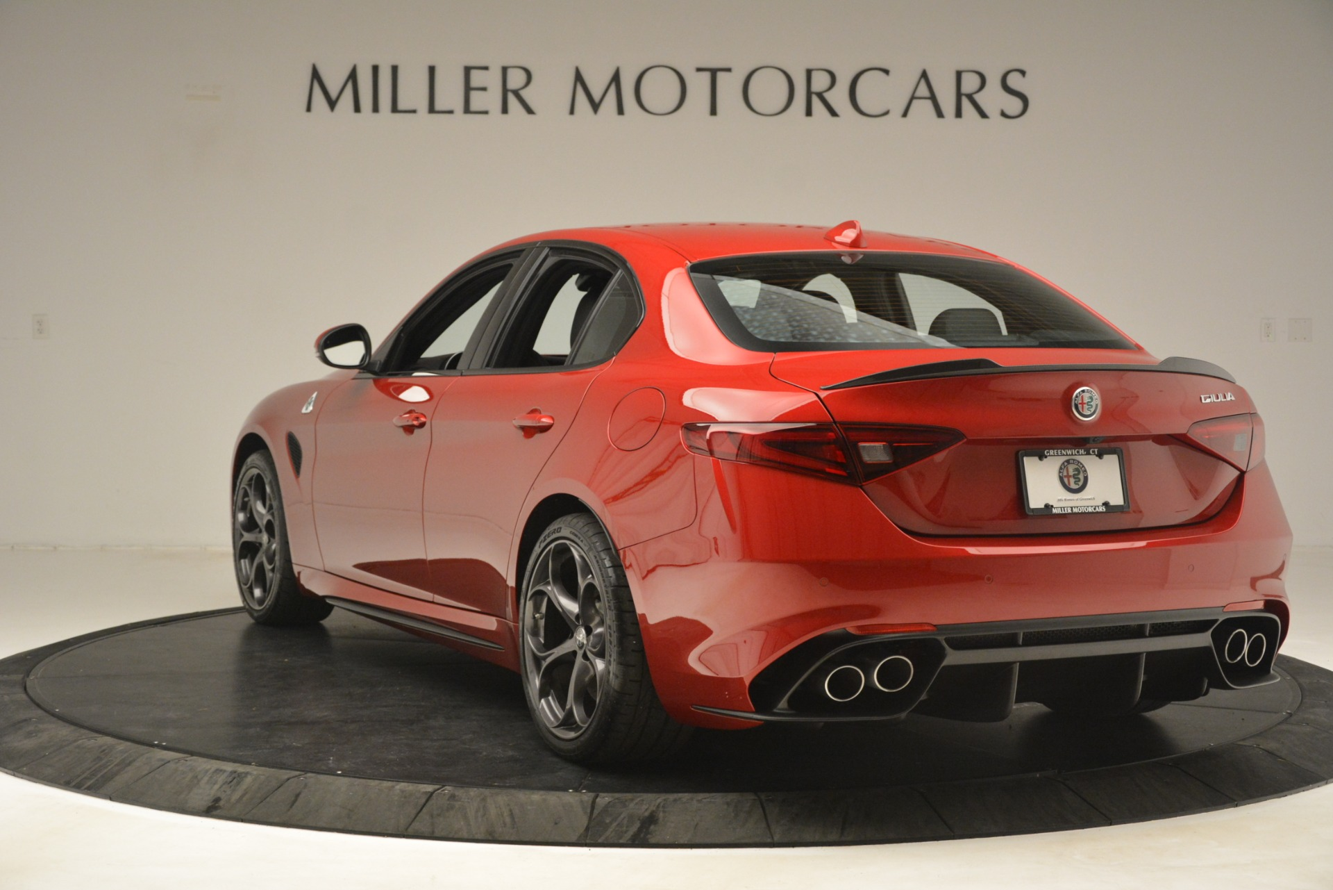 New 2019 Alfa Romeo Giulia Quadrifoglio For Sale In Greenwich, CT 3208_p5