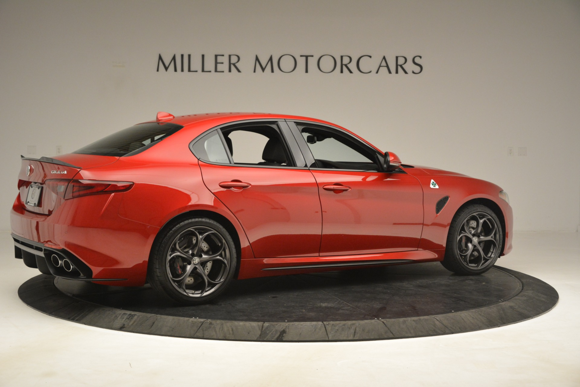 New 2019 Alfa Romeo Giulia Quadrifoglio For Sale In Greenwich, CT 3208_p8