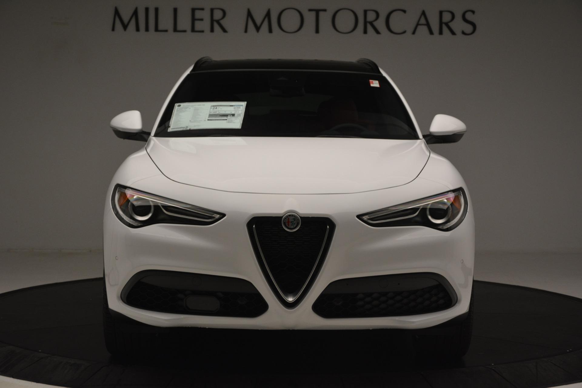New 2019 Alfa Romeo Stelvio Ti Sport Q4 For Sale In Greenwich, CT 3209_p12