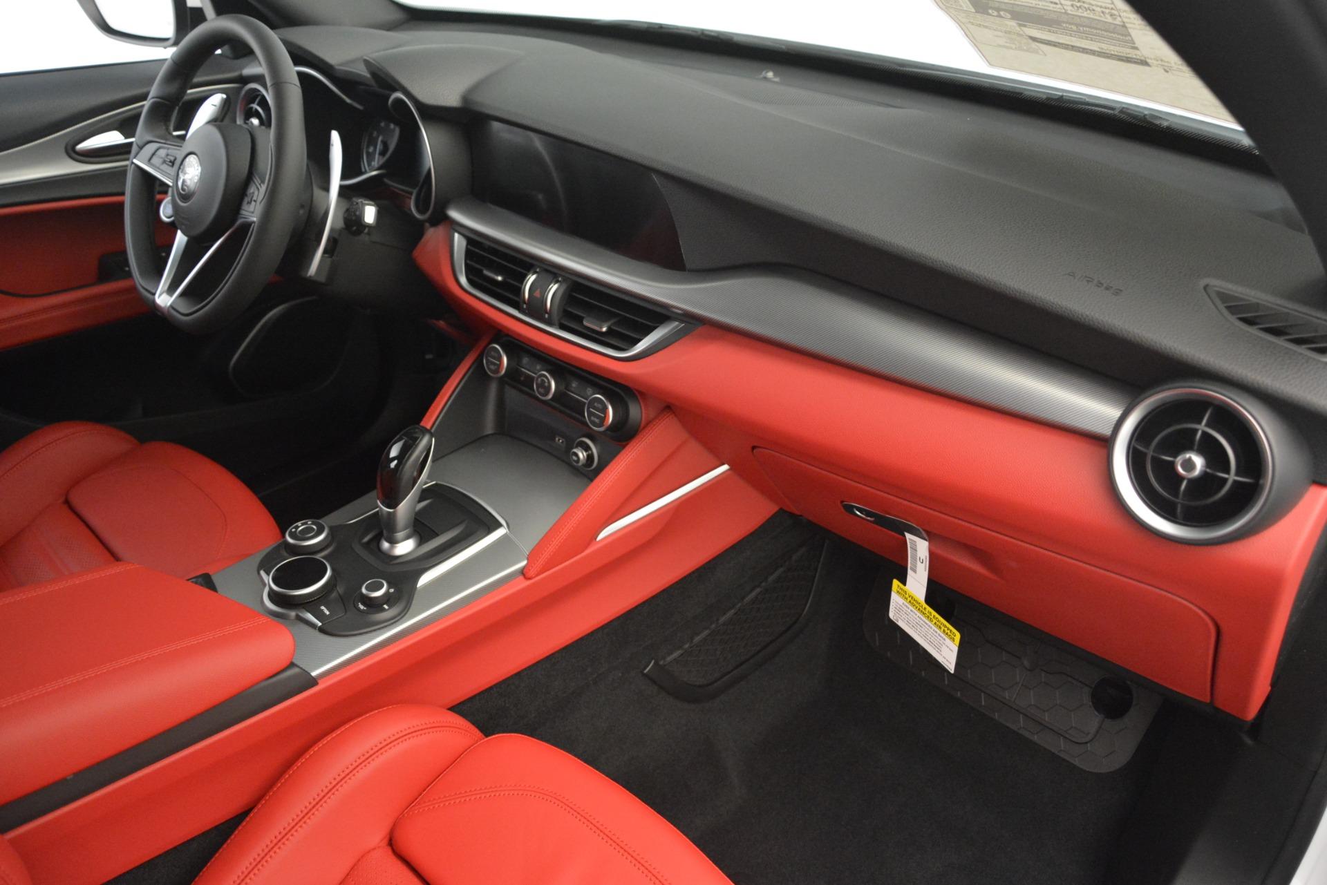 New 2019 Alfa Romeo Stelvio Ti Sport Q4 For Sale In Greenwich, CT 3209_p22