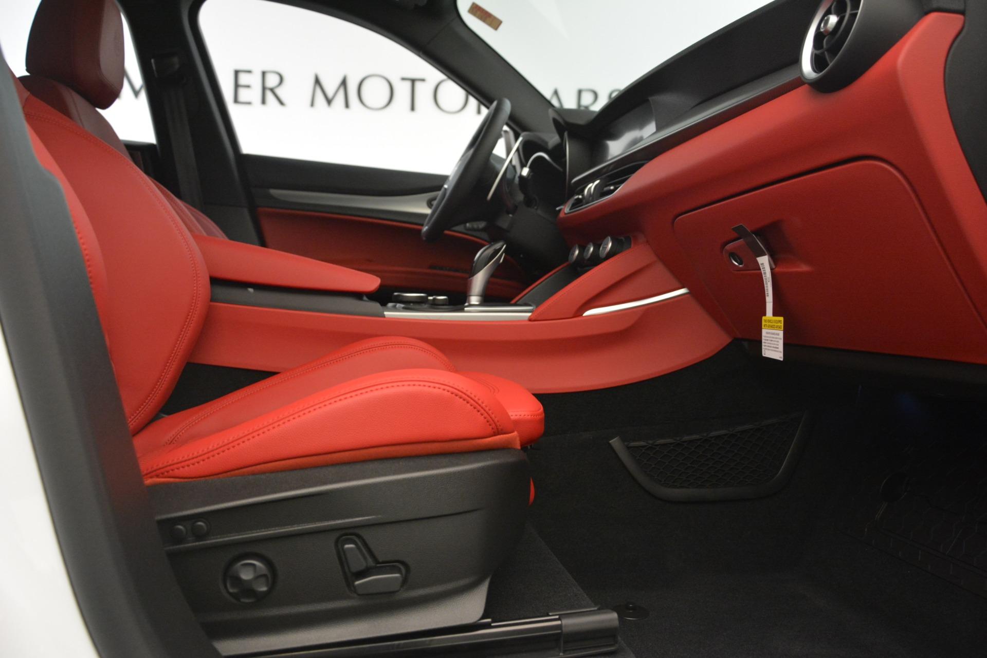 New 2019 Alfa Romeo Stelvio Ti Sport Q4 For Sale In Greenwich, CT 3209_p23