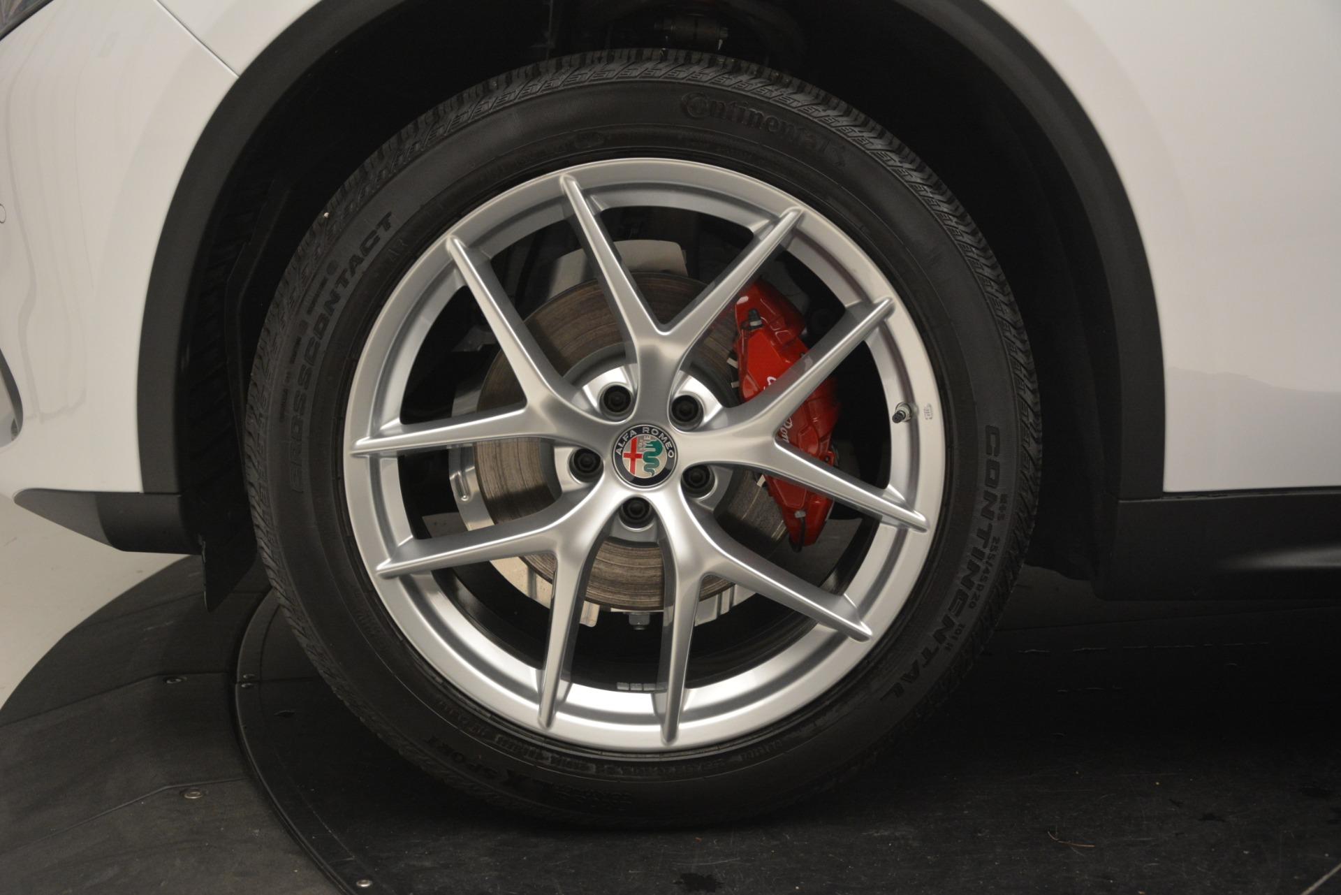 New 2019 Alfa Romeo Stelvio Ti Sport Q4 For Sale In Greenwich, CT 3209_p30