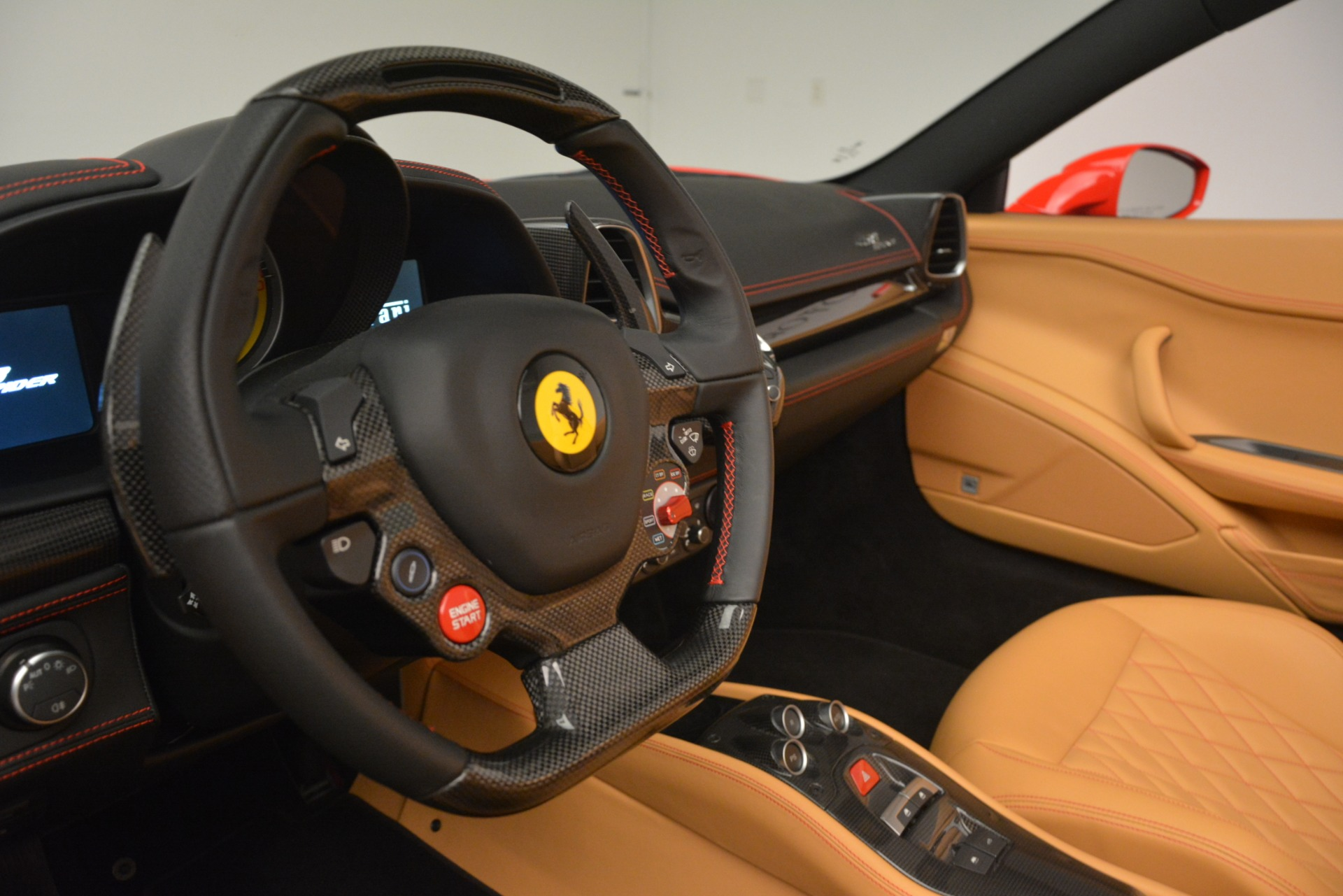 Used 2015 Ferrari 458 Spider  For Sale In Greenwich, CT 3233_p22