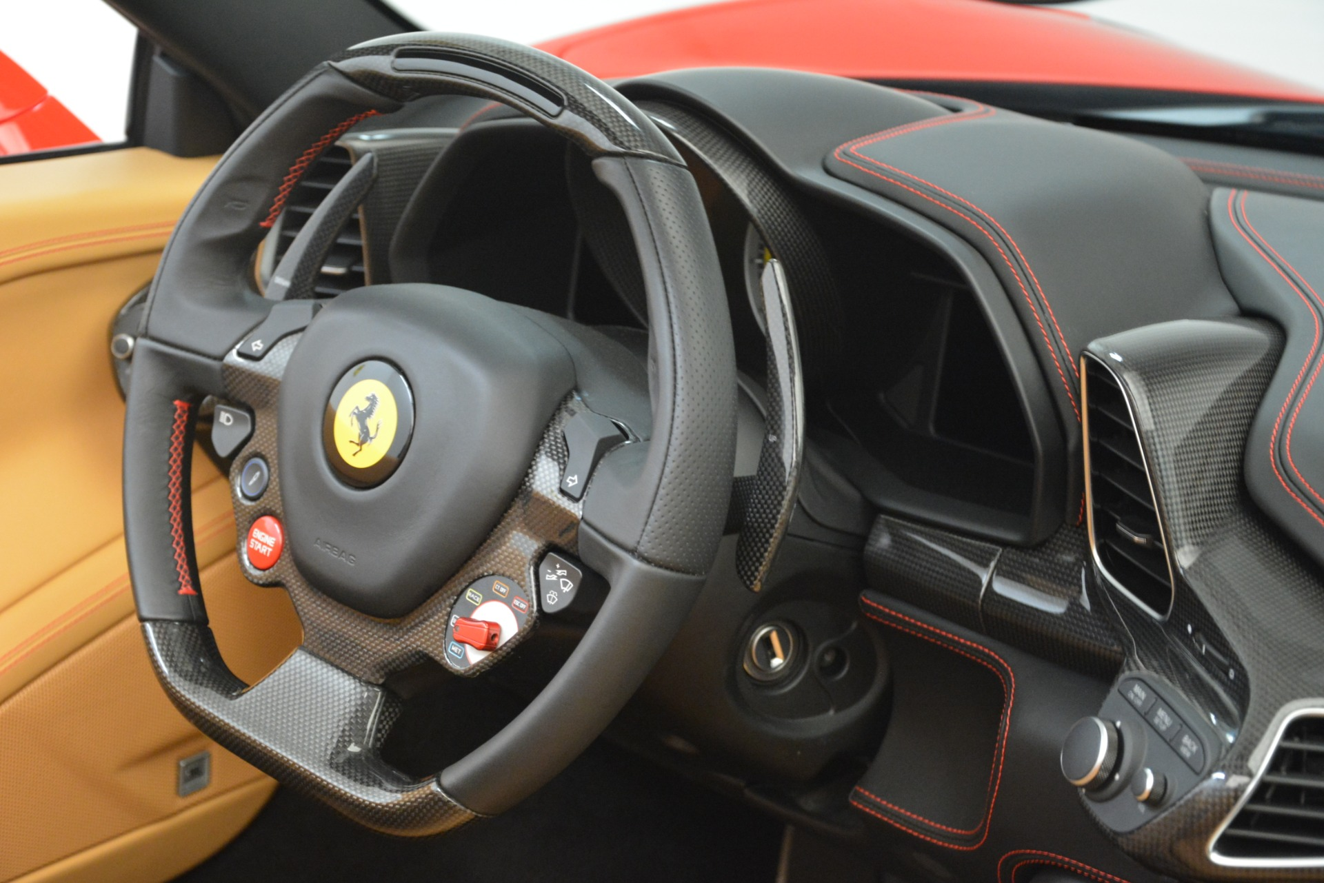 Used 2015 Ferrari 458 Spider  For Sale In Greenwich, CT 3233_p29