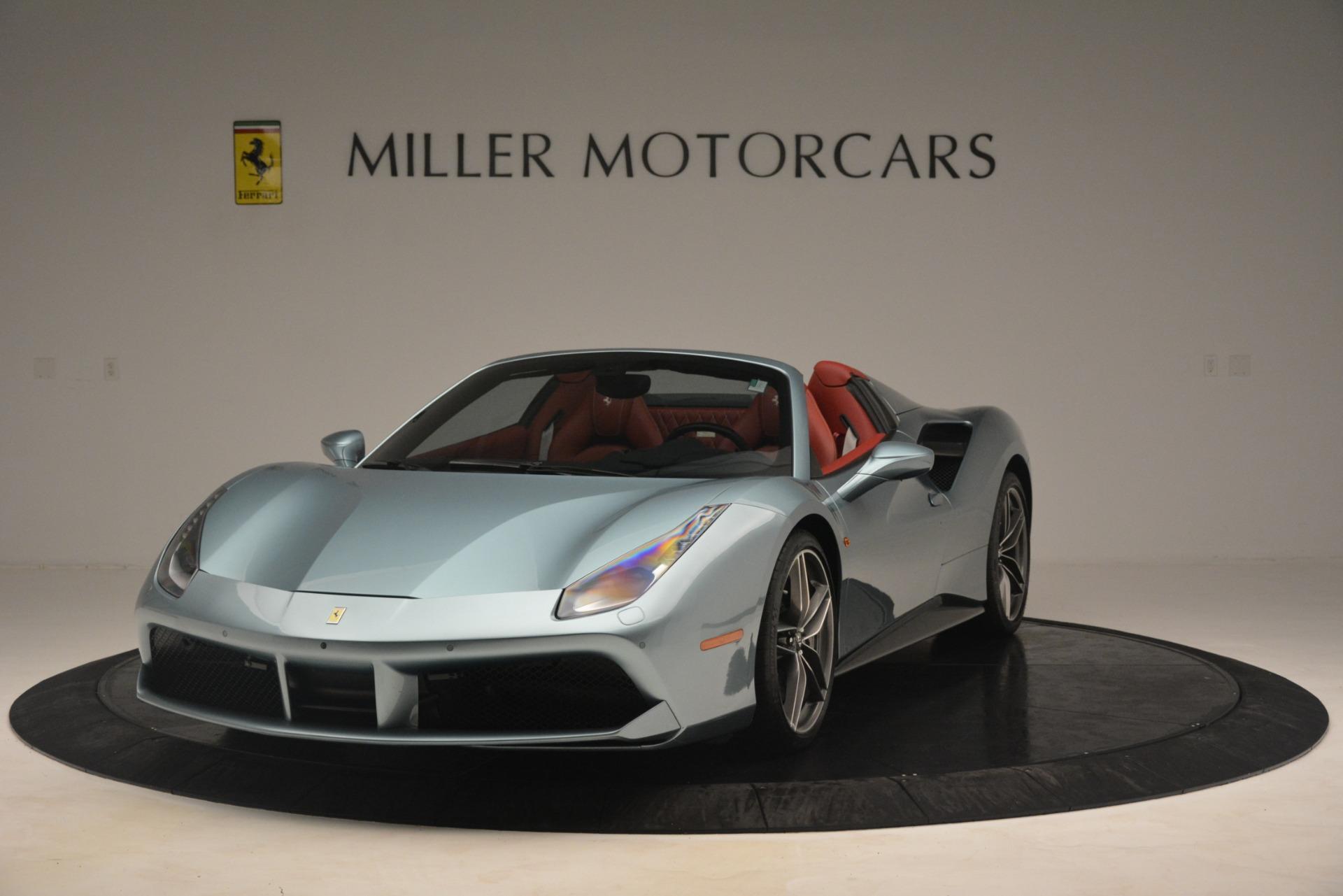 Used 2017 Ferrari 488 Spider  For Sale In Greenwich, CT 3237_main