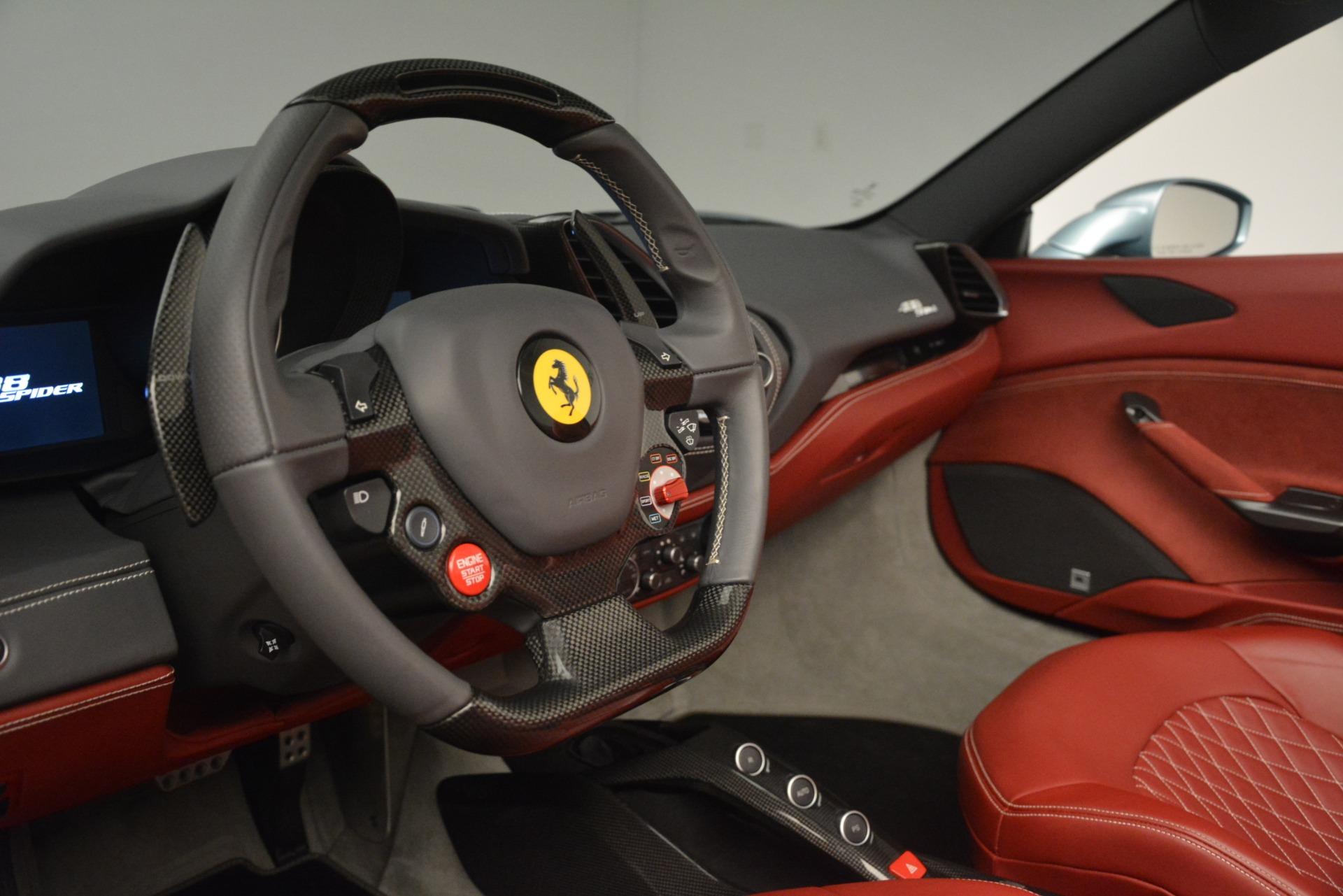 Used 2017 Ferrari 488 Spider  For Sale In Greenwich, CT 3237_p25
