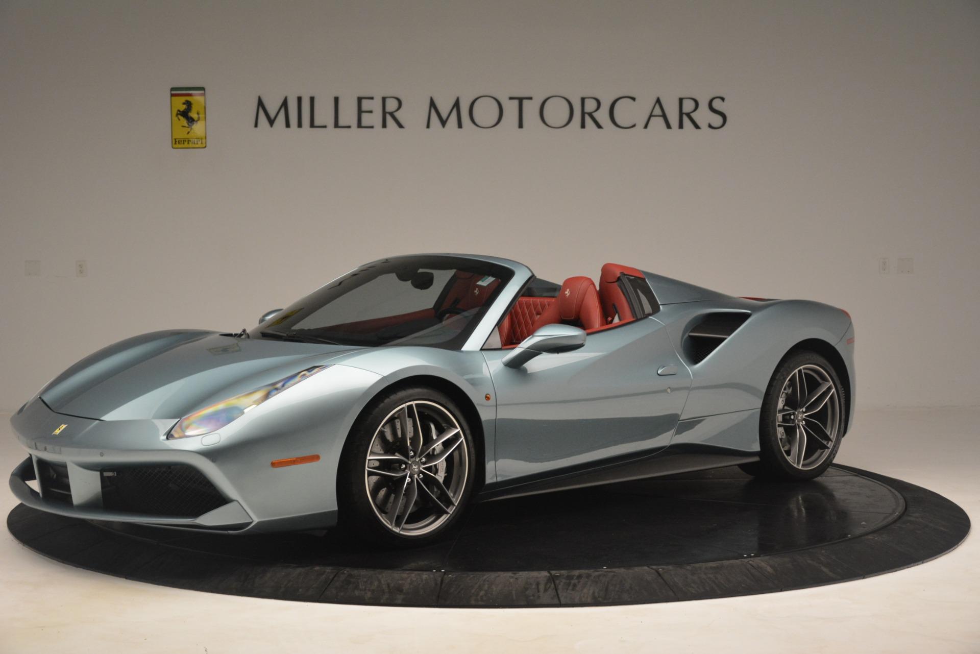 Used 2017 Ferrari 488 Spider  For Sale In Greenwich, CT 3237_p2