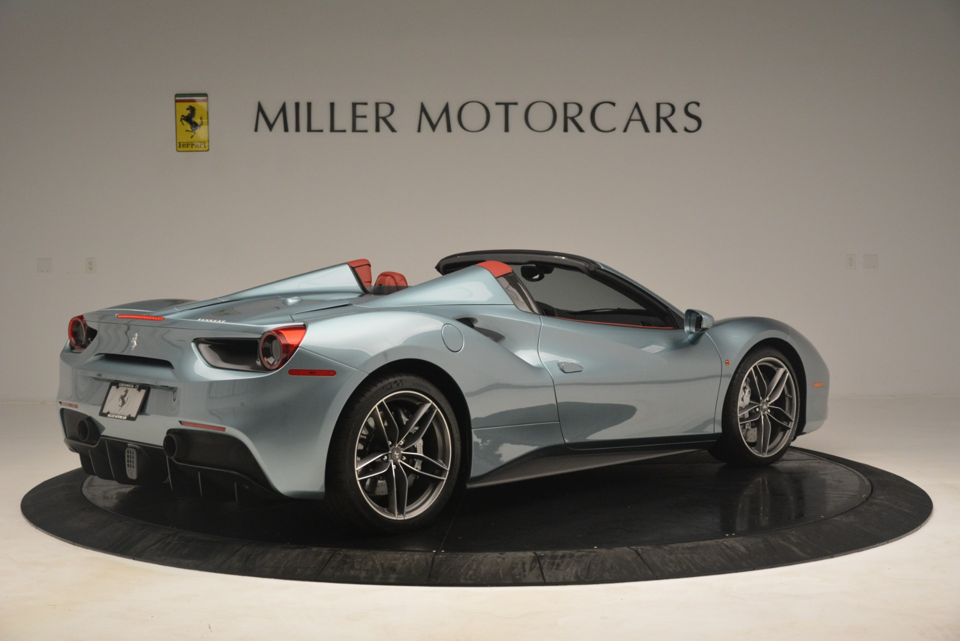 Used 2017 Ferrari 488 Spider  For Sale In Greenwich, CT 3237_p8