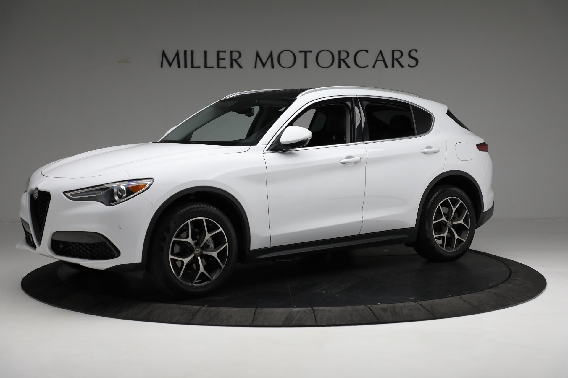 New 2019 Alfa Romeo Stelvio Ti Q4 For Sale In Greenwich, CT 3247_p2