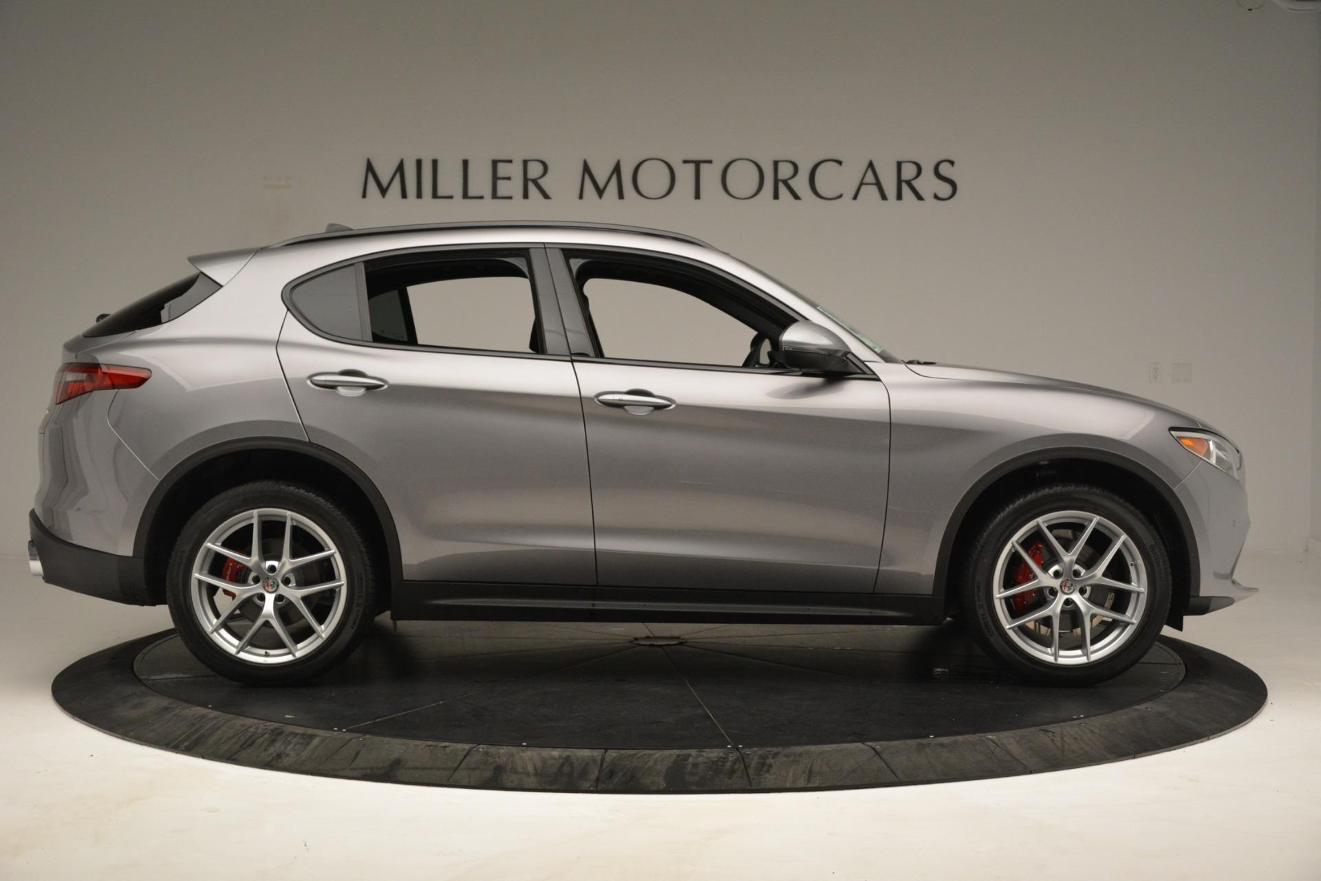 New 2019 Alfa Romeo Stelvio Ti Sport Q4 For Sale In Greenwich, CT 3250_p9