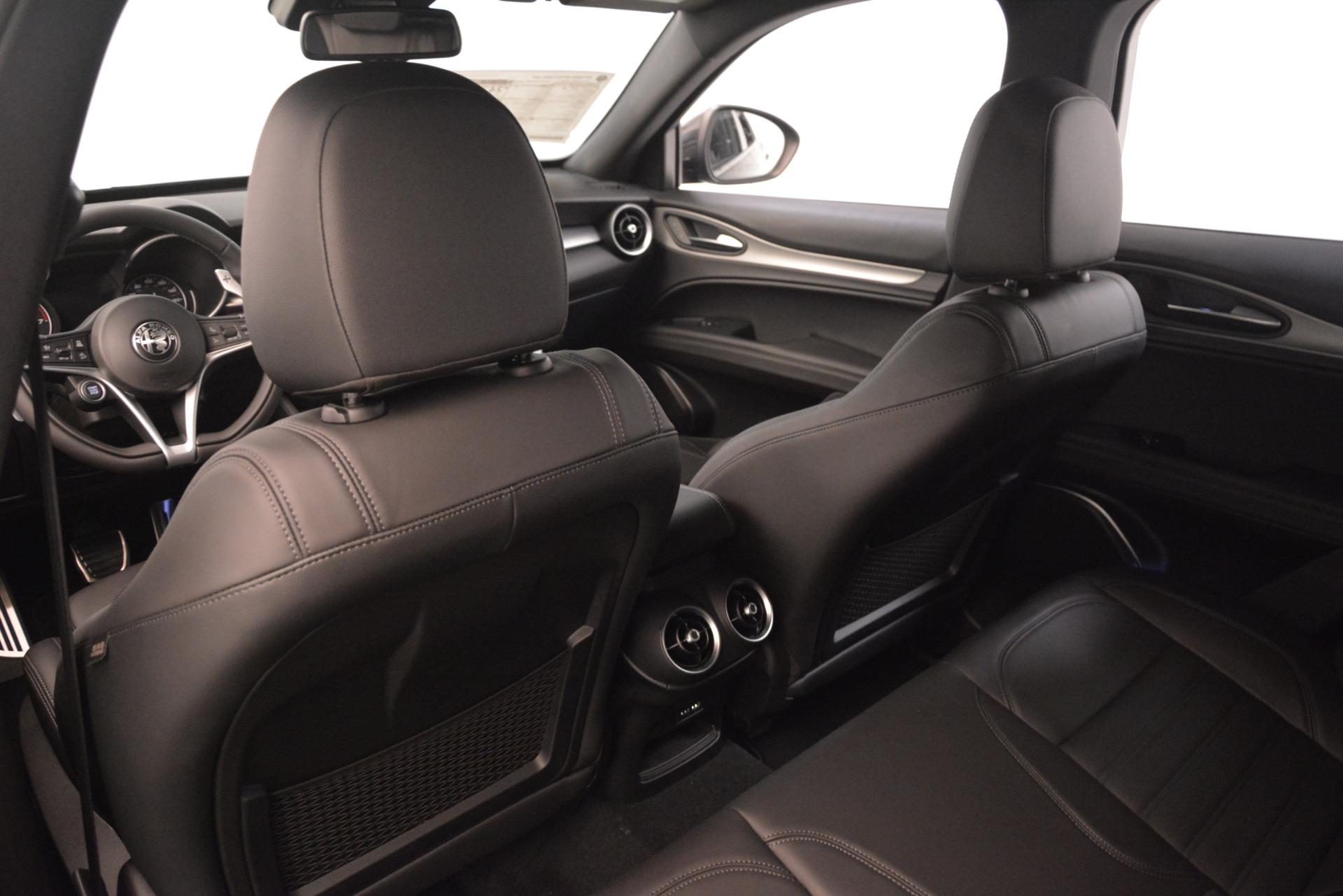 New 2019 Alfa Romeo Stelvio Ti Sport Q4 For Sale In Greenwich, CT 3251_p20
