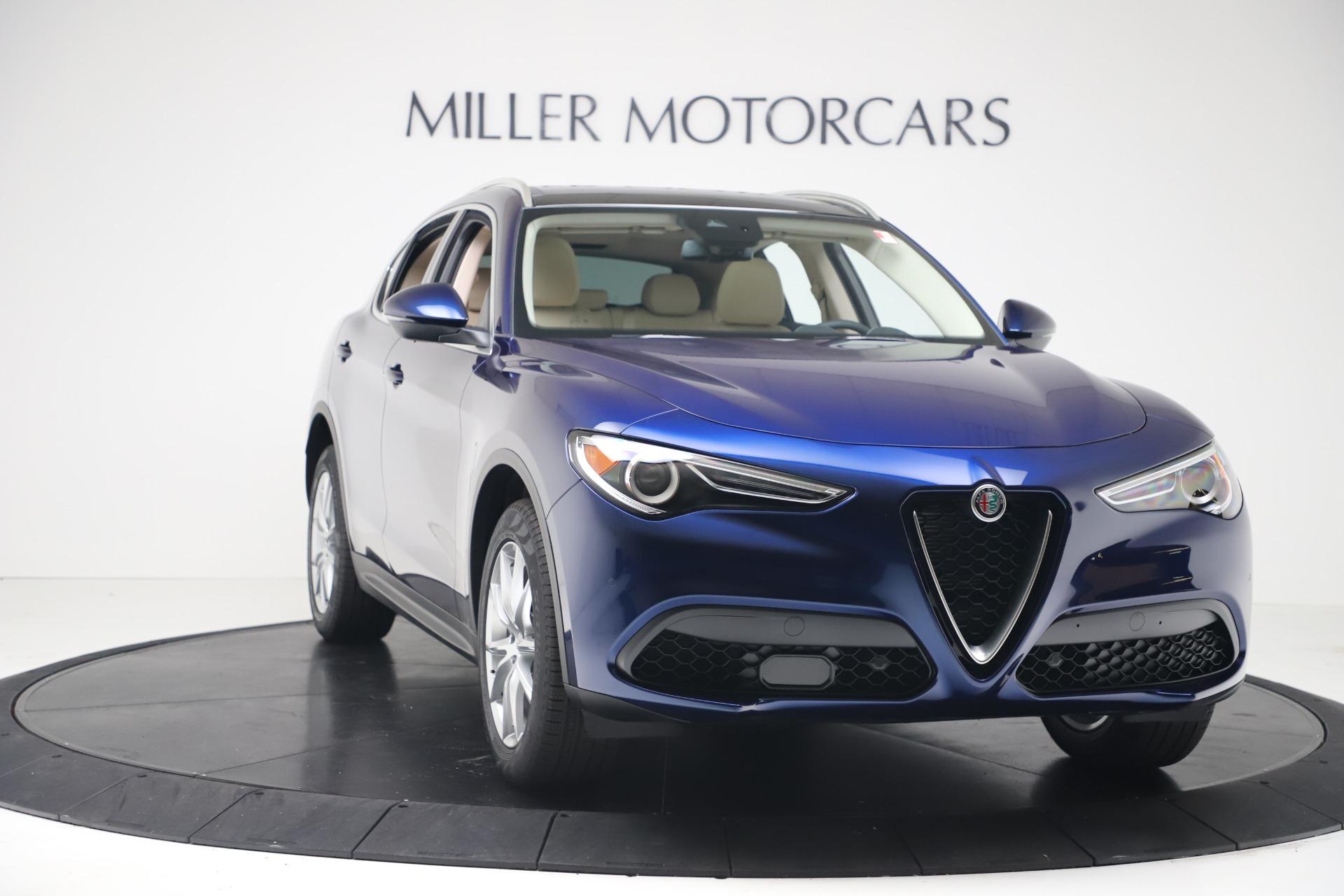 New 2019 Alfa Romeo Stelvio Ti Lusso Q4 For Sale In Greenwich, CT 3259_p11